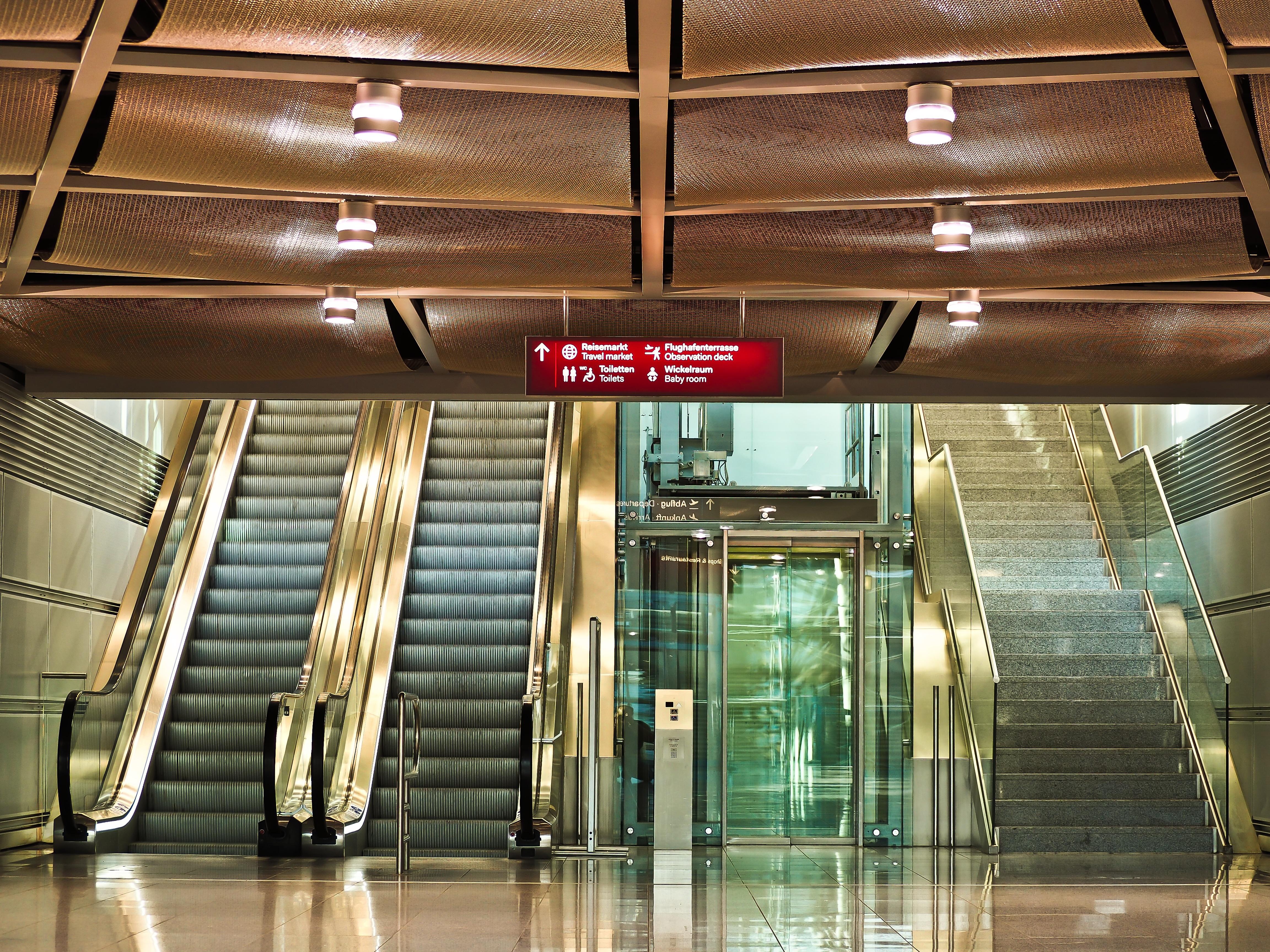 Design Düsseldorf free images architecture glass building city escalator