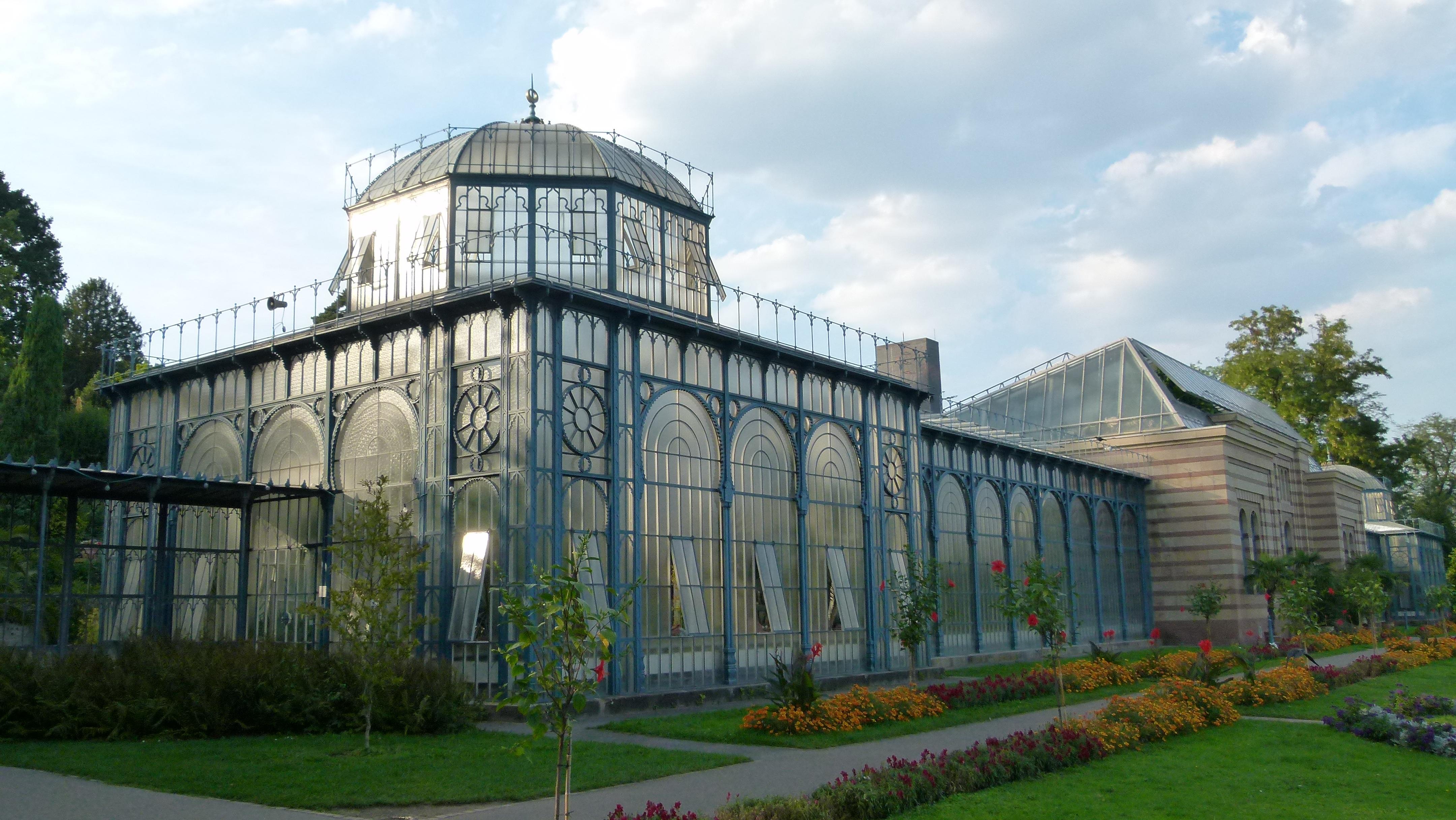 Haus Im Gewächshaus kostenlose foto die architektur glas gebäude alt zoo fassade