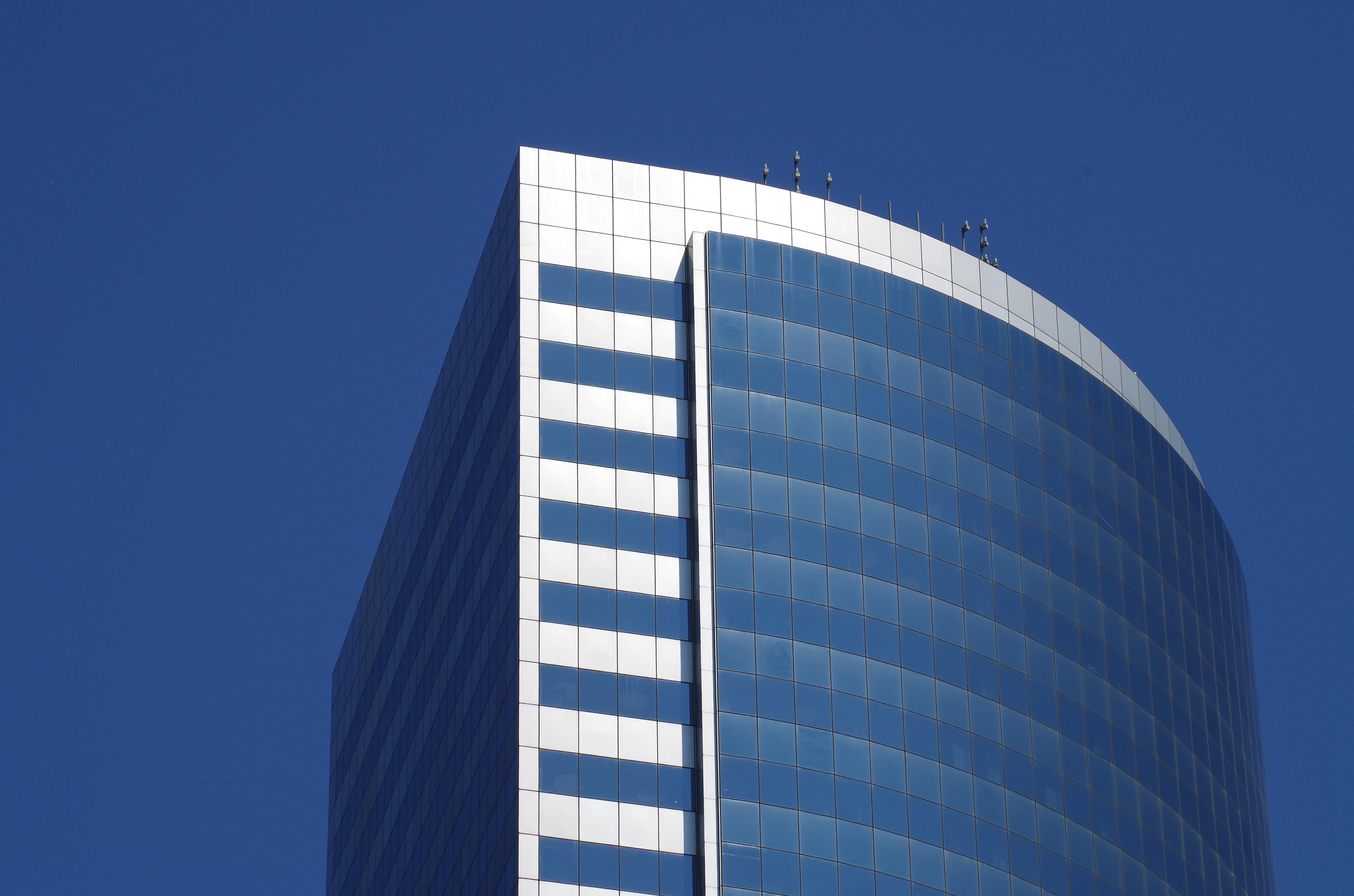 Images gratuites : architecture verre bâtiment gratte ciel new
