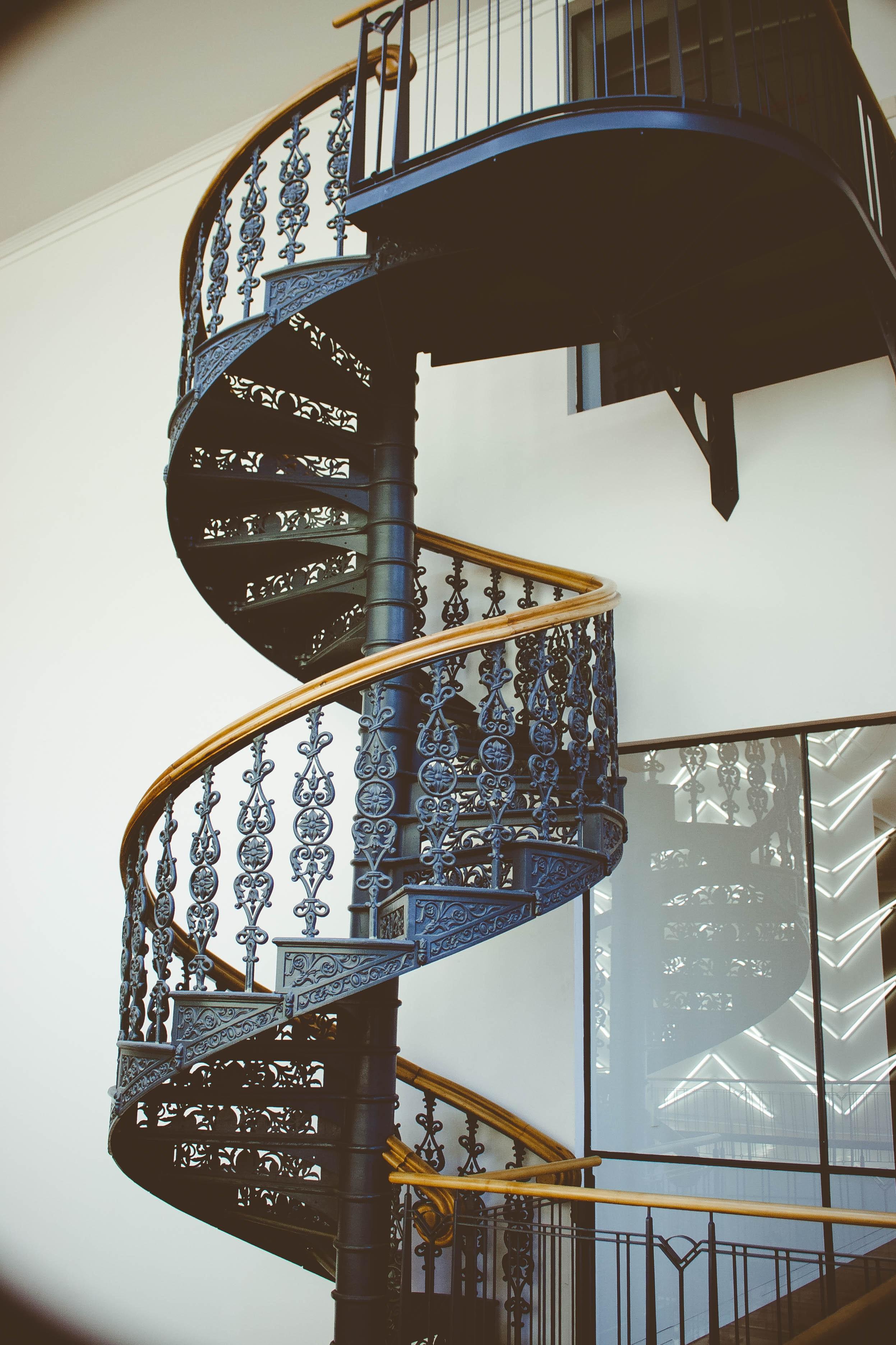 Images Gratuites : architecture, rampe, maison, à l\'intérieur ...