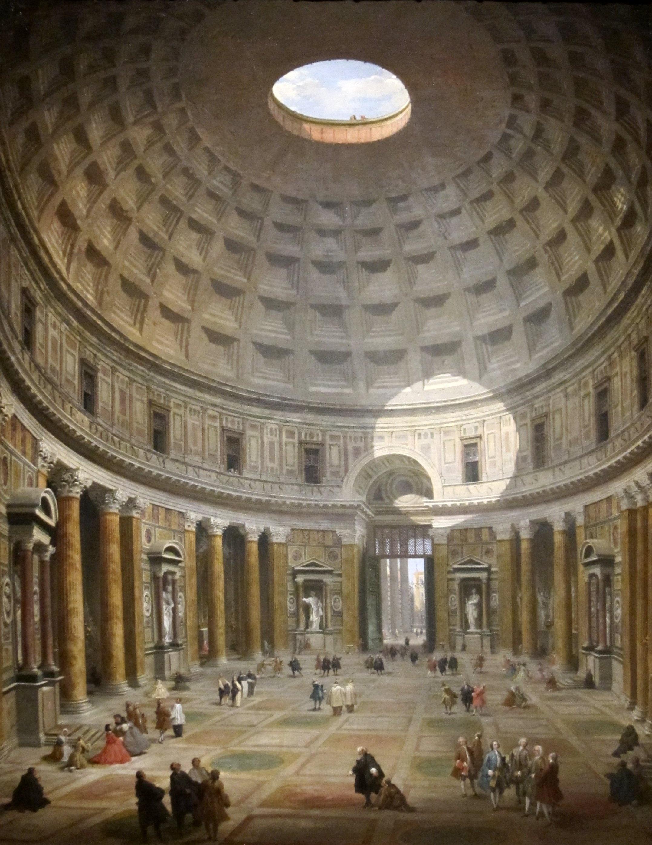 fotos gratis agujero interior edificio museo lugar de adoracin obra de arte bautisterio panini roma simetra famoso cuadros