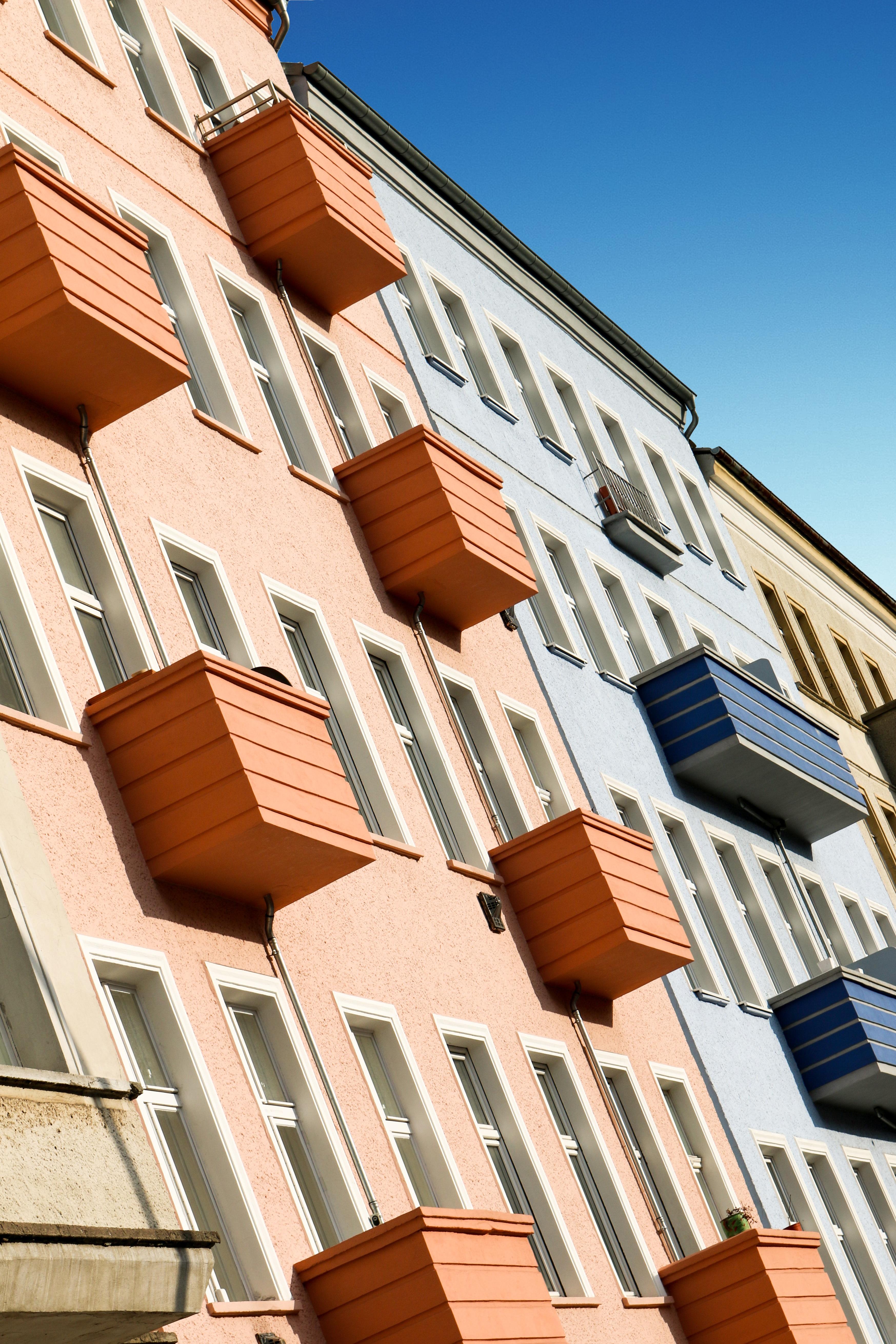 Балконы архитектура зданий.