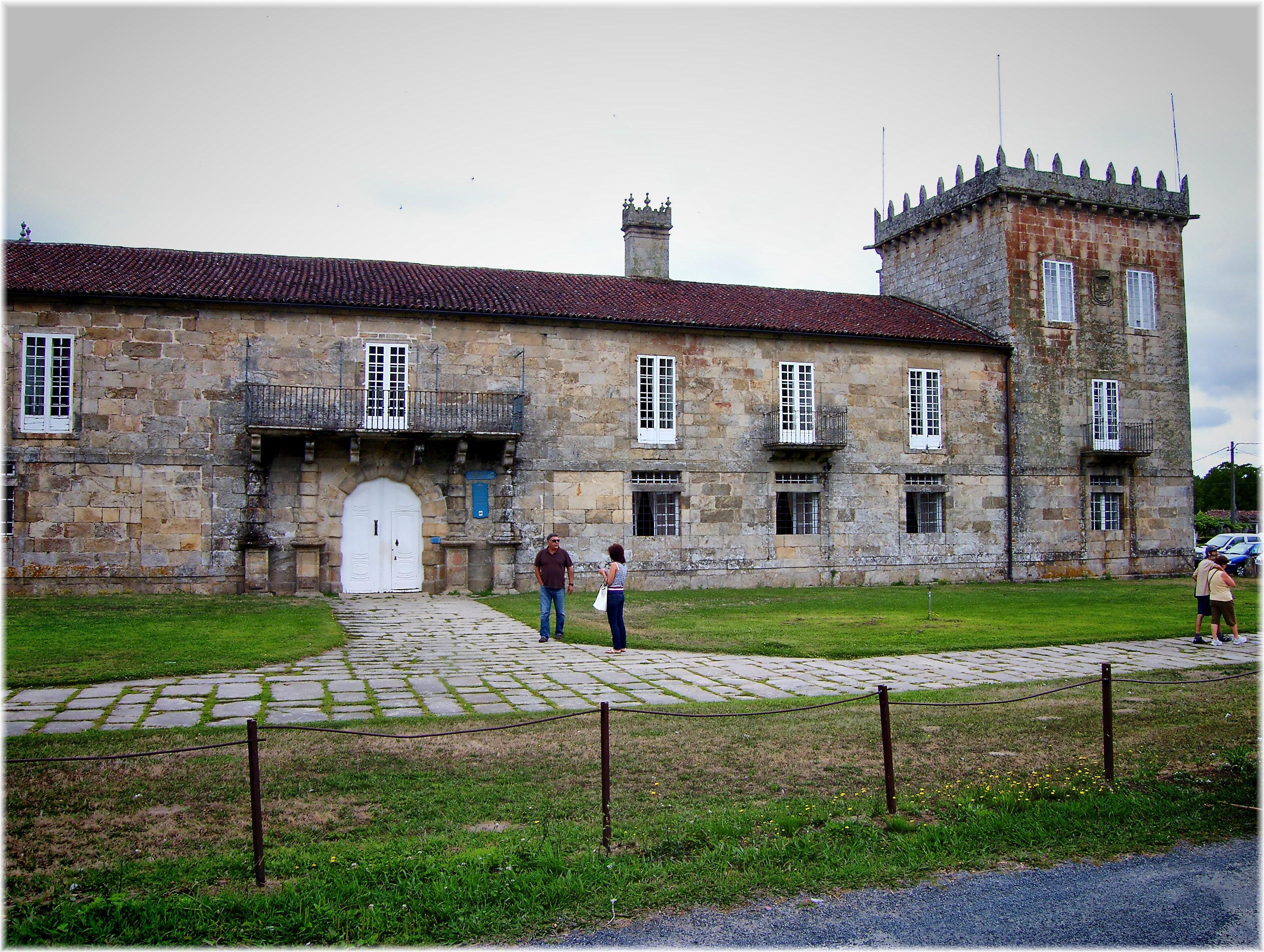Fotos gratis arquitectura pueblo edificio castillo - Casas de campo en galicia ...