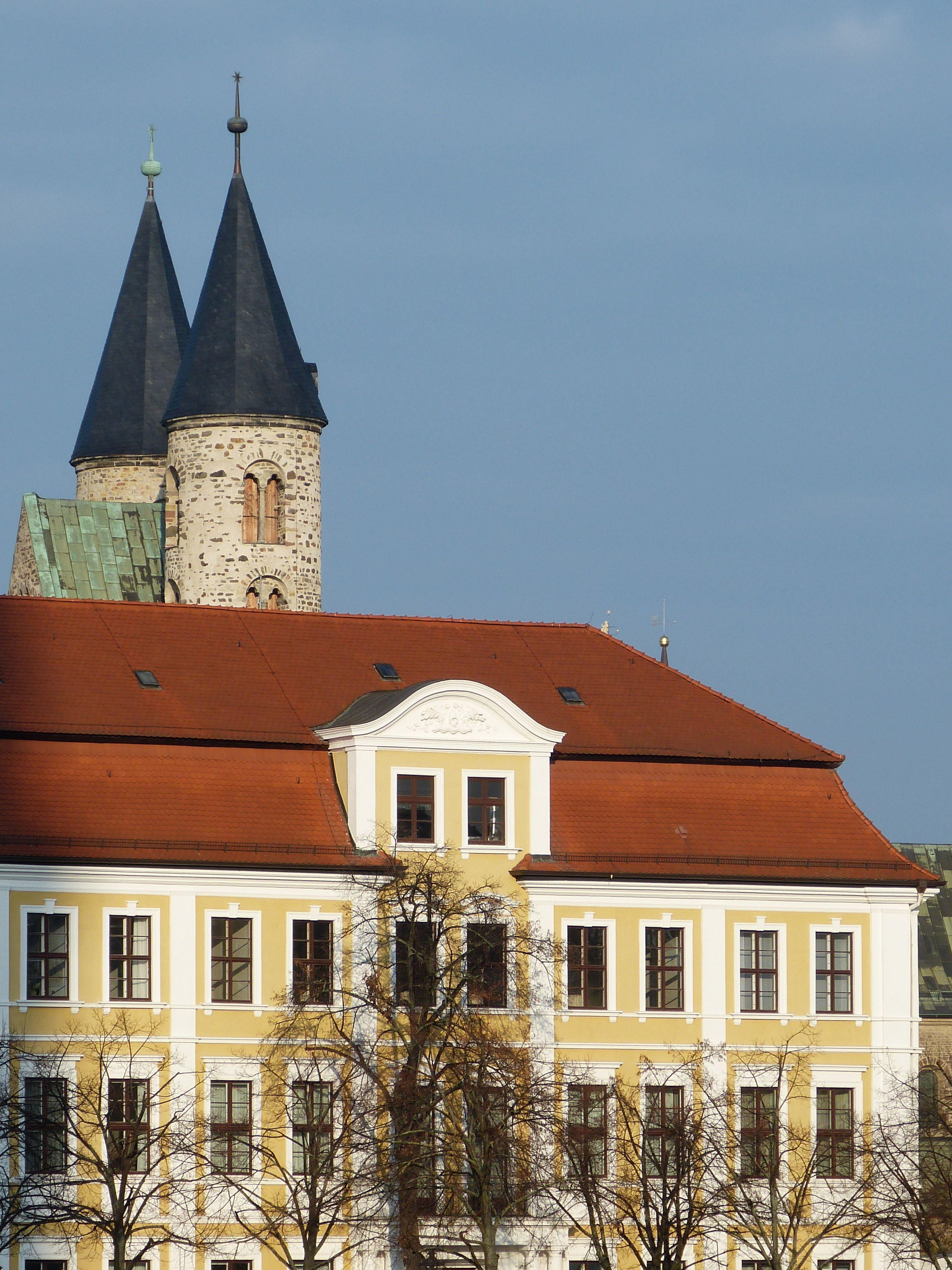 Architektur Magdeburg kostenlose foto die architektur haus gebäude chateau turm