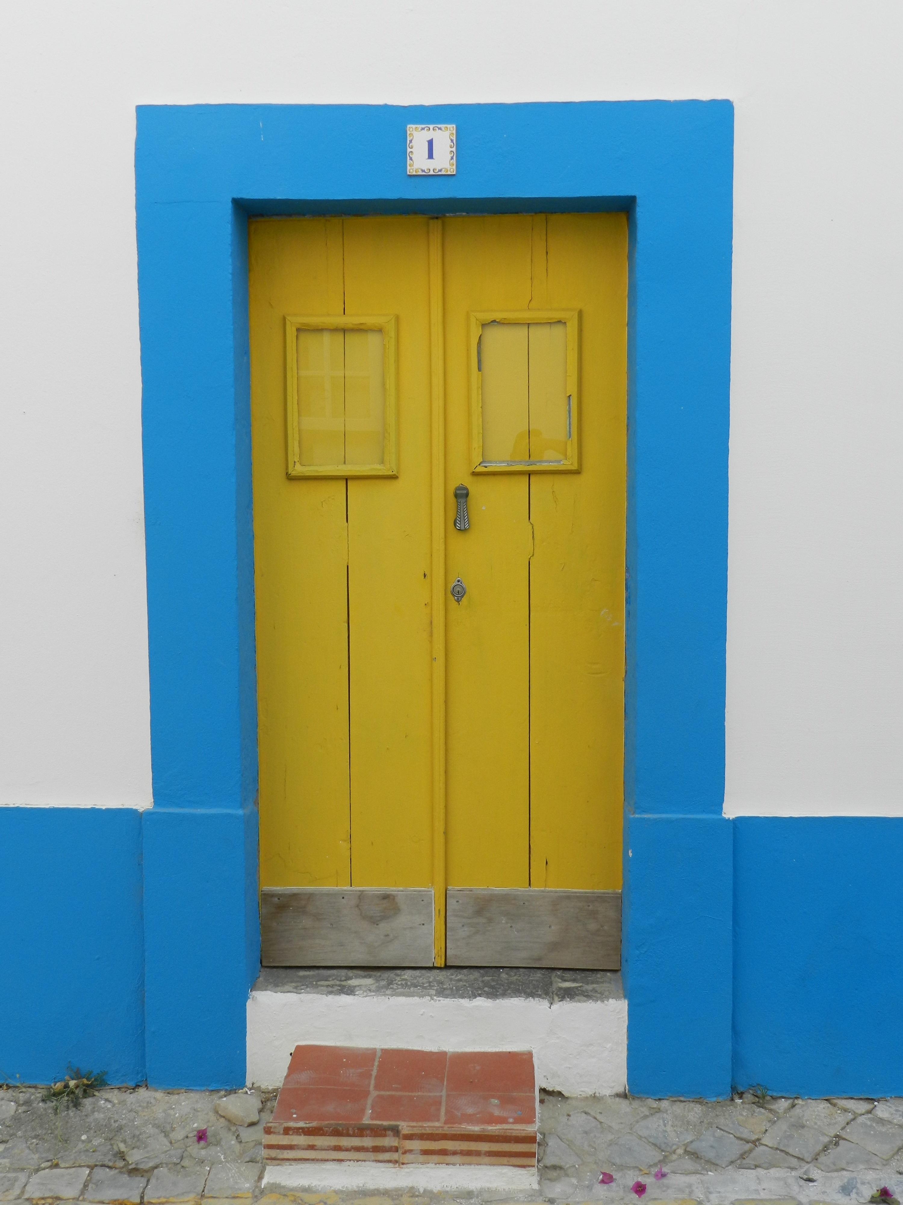 Images Gratuites Architecture Maison Mur Couleur Fa Ade  # Meuble Jaune
