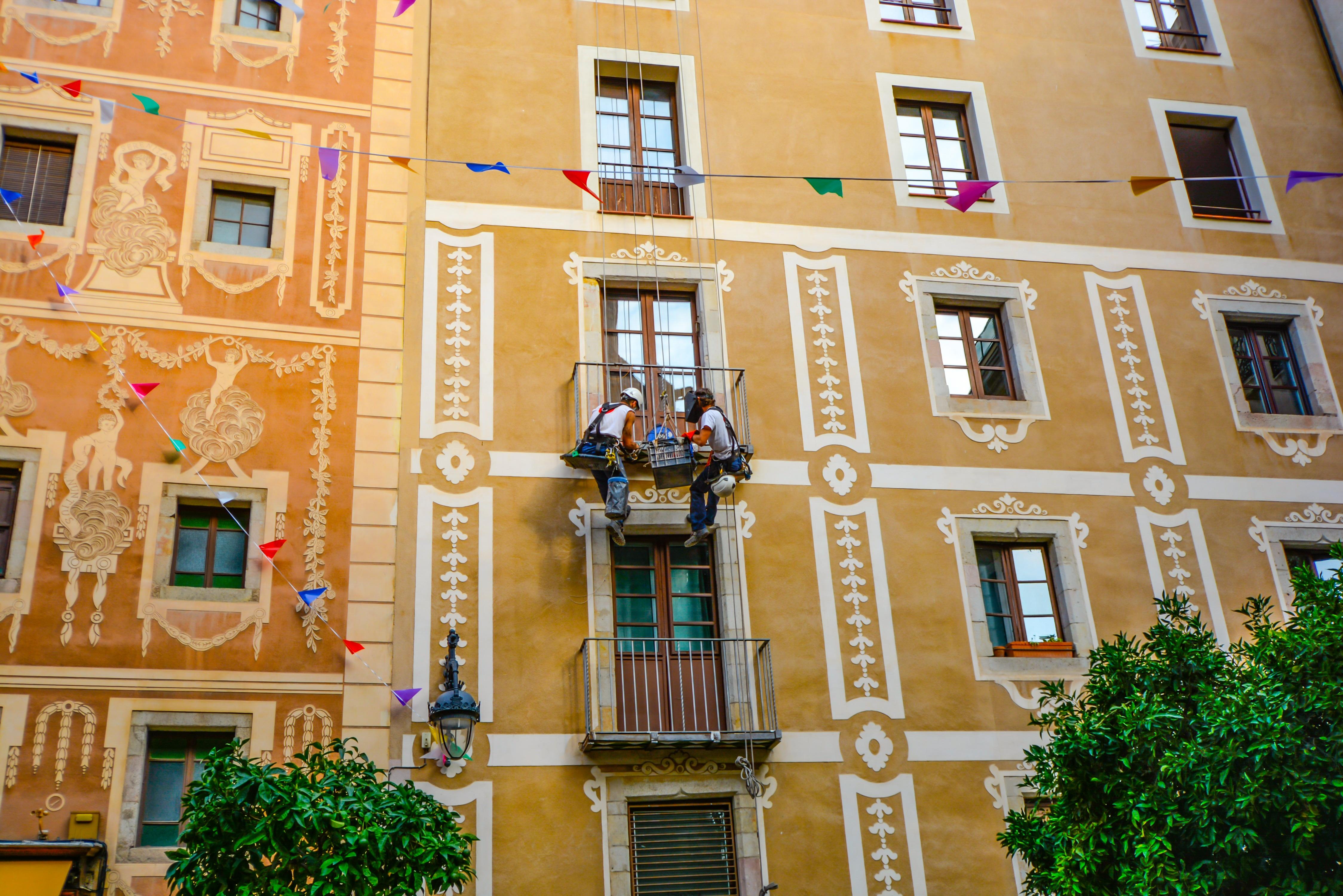 Fotos gratis arquitectura casa ventana edificio palacio ciudad urbano balc n - Apartamentos barcelona por dias ...