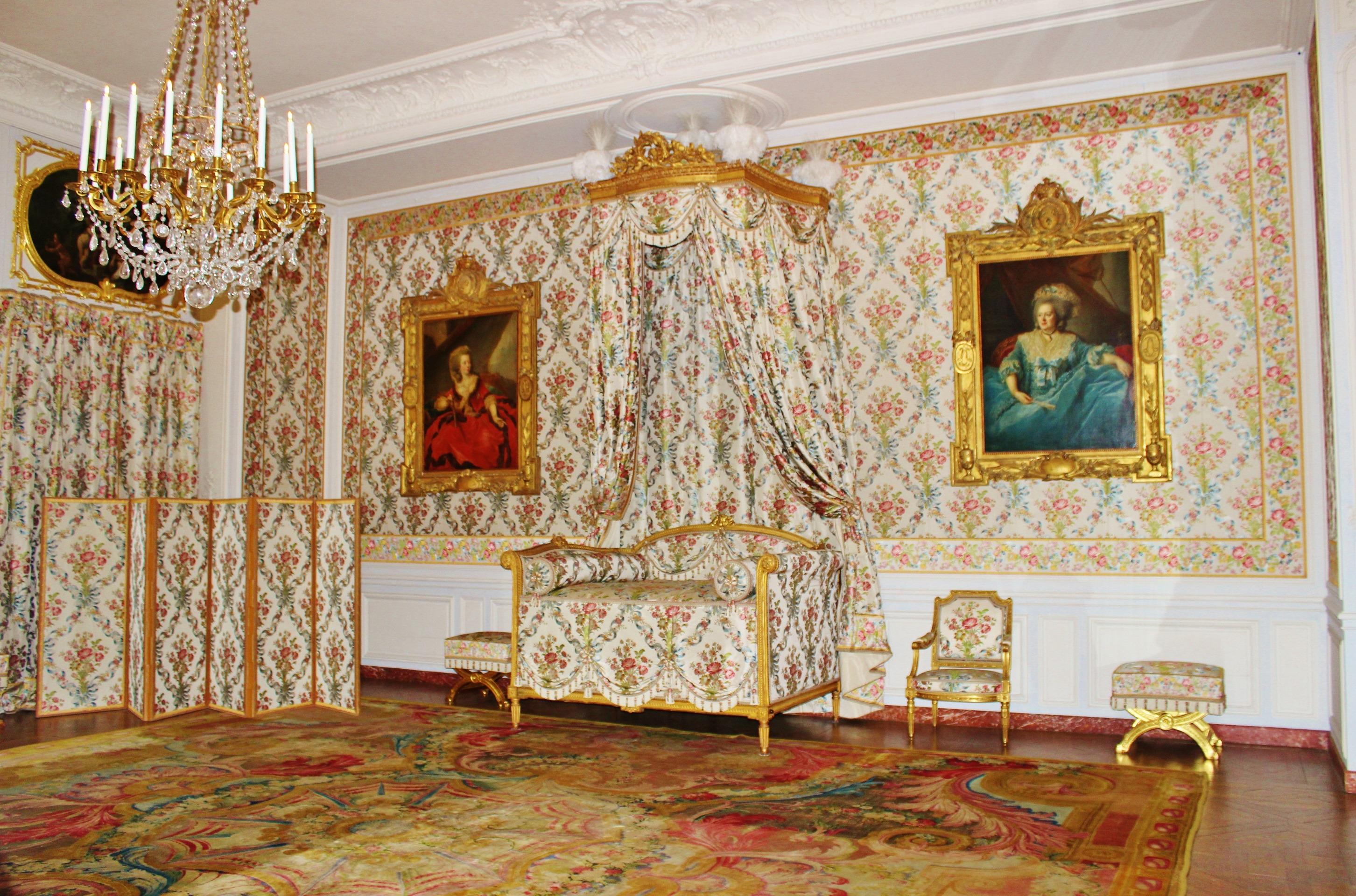 Die Architektur Innere Gebäude Palast Paris Frankreich Wahrzeichen  Wohnzimmer Historisch Zimmer Innenarchitektur Innen Altar Wandgemälde  Geschichte