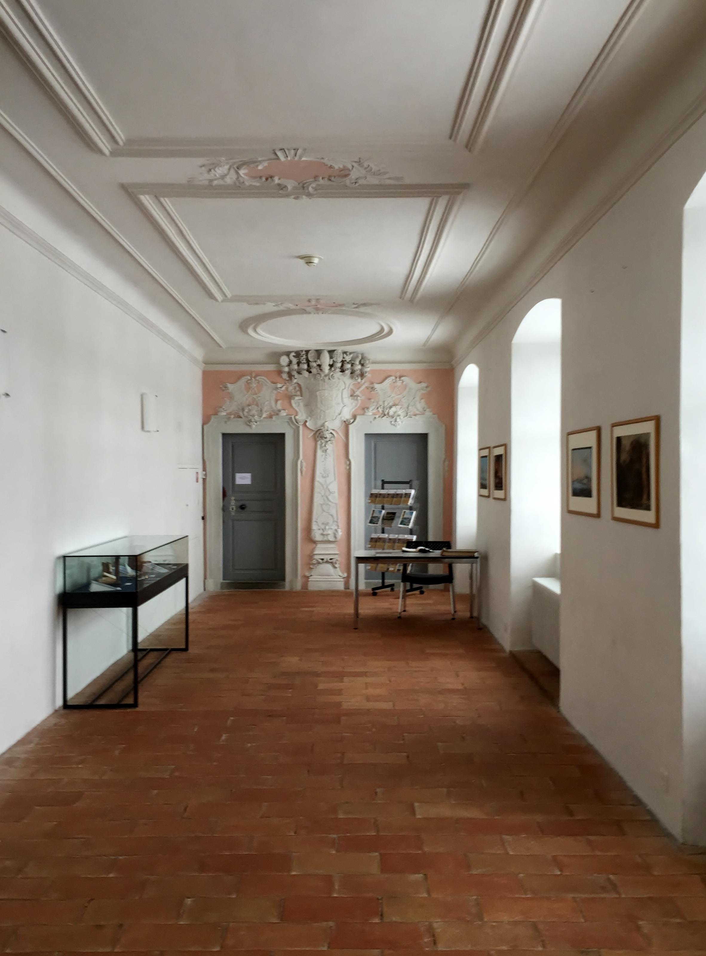 diseo de interiores monasterio suiza abada atraccin turstica inmuebles vestbulo bienes races pasillo interior suelos de madera