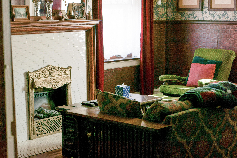 Images Gratuites Architecture Manoir Maison Vert Chalet  # Salon Meuble En Vert