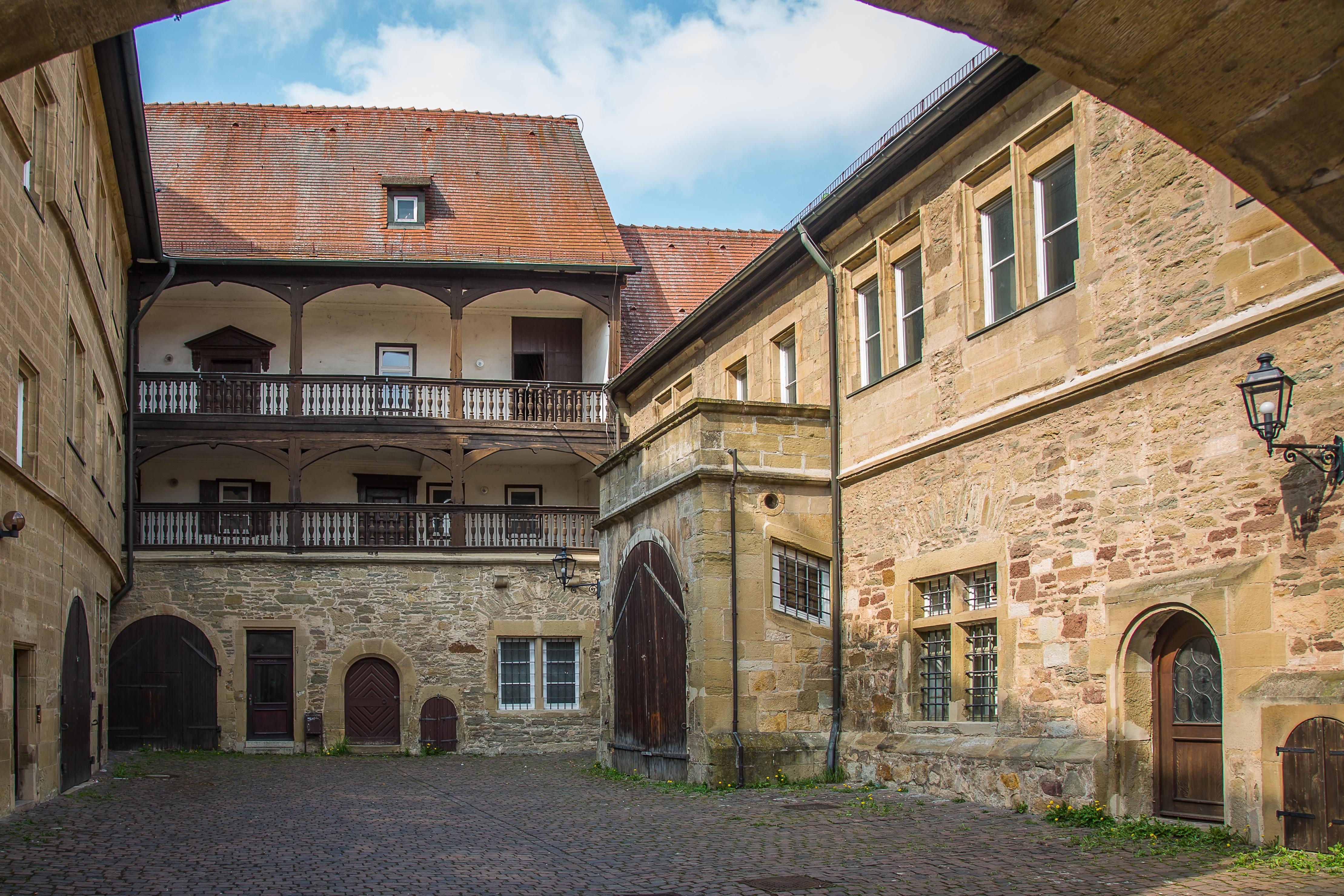scottys castle courtyard - HD1280×853