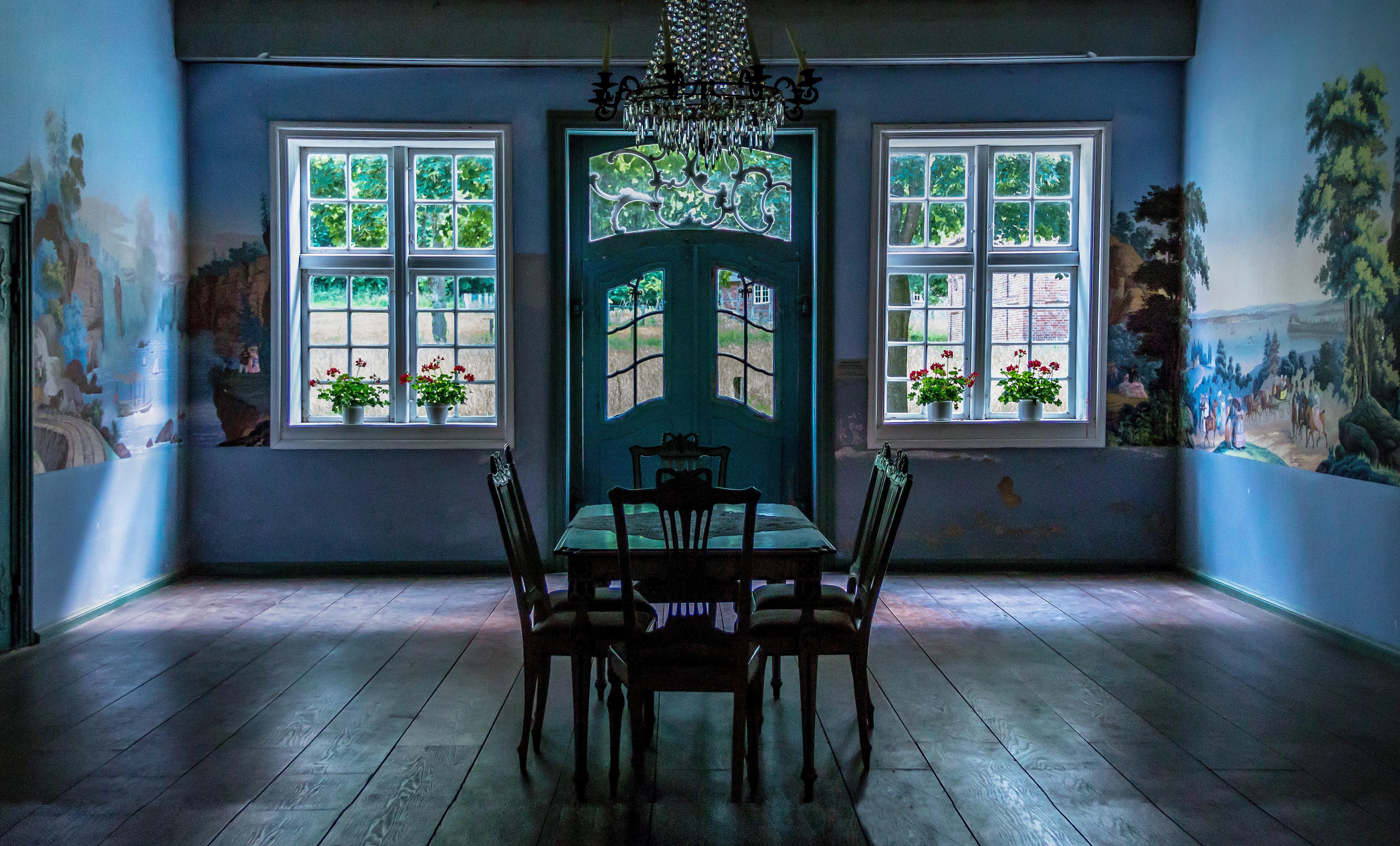 Die Architektur Villa Haus Fenster Gebäude Alt Atmosphäre Zuhause Platz  Eigentum Wohnzimmer Zerfallen Zimmer Altes Gebäude