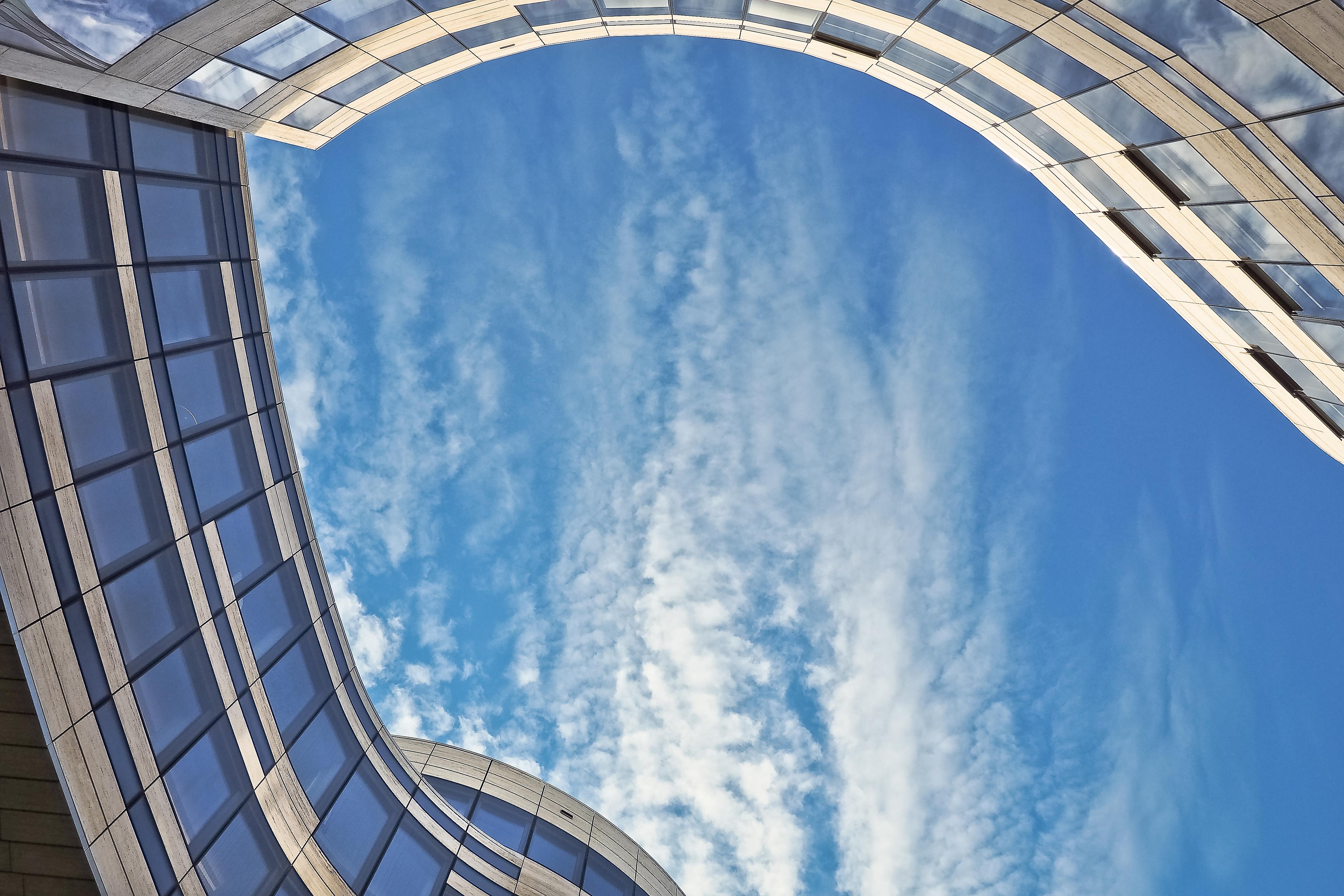 Kostenlose foto : die Architektur, modern, Wolkenkratzer, Fassade ...