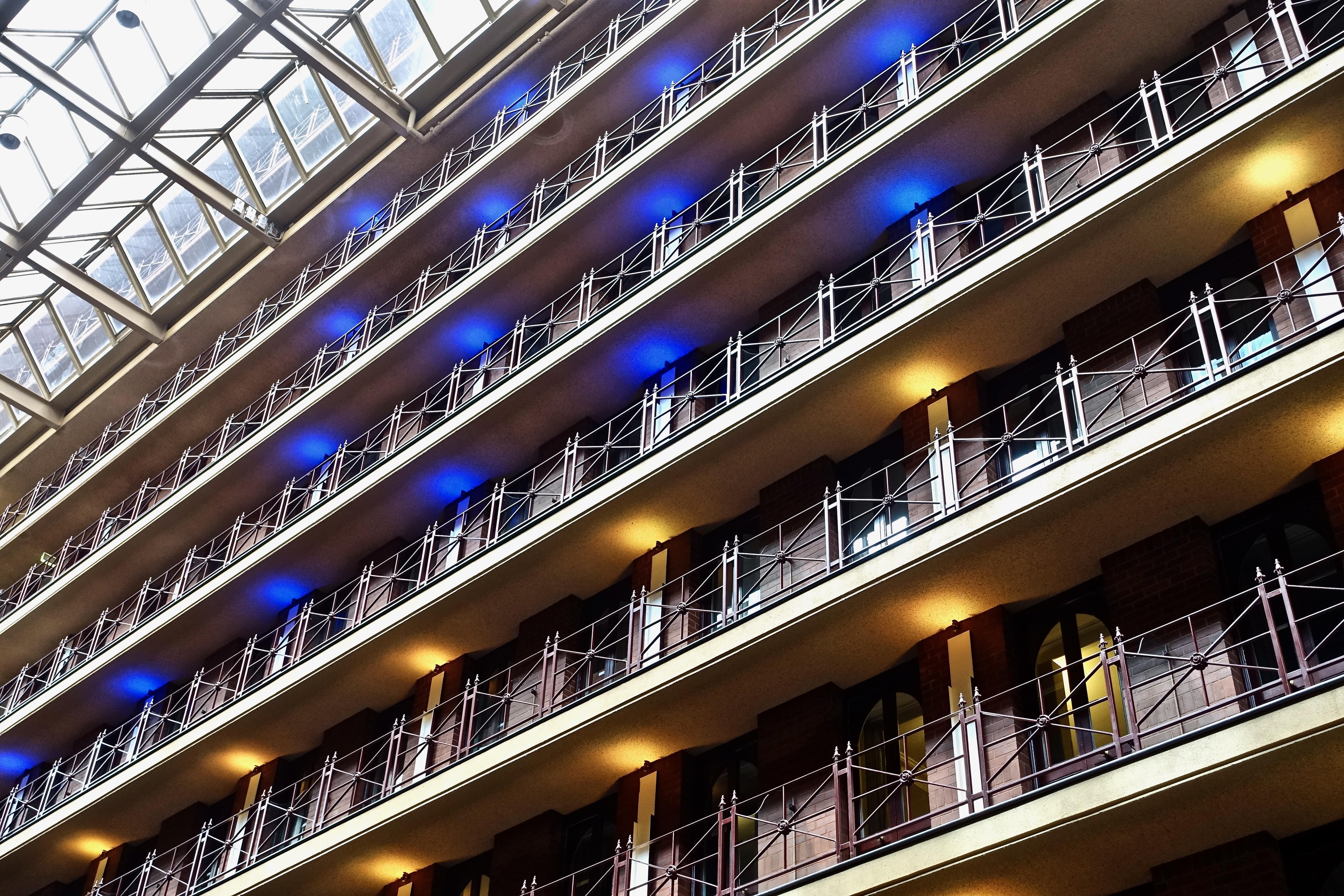Architecture Night Building Skyscraper Facade Decor Apartment Modern Interior Design Luxury Hotel Elegant Rooms Contemporary Metropolis