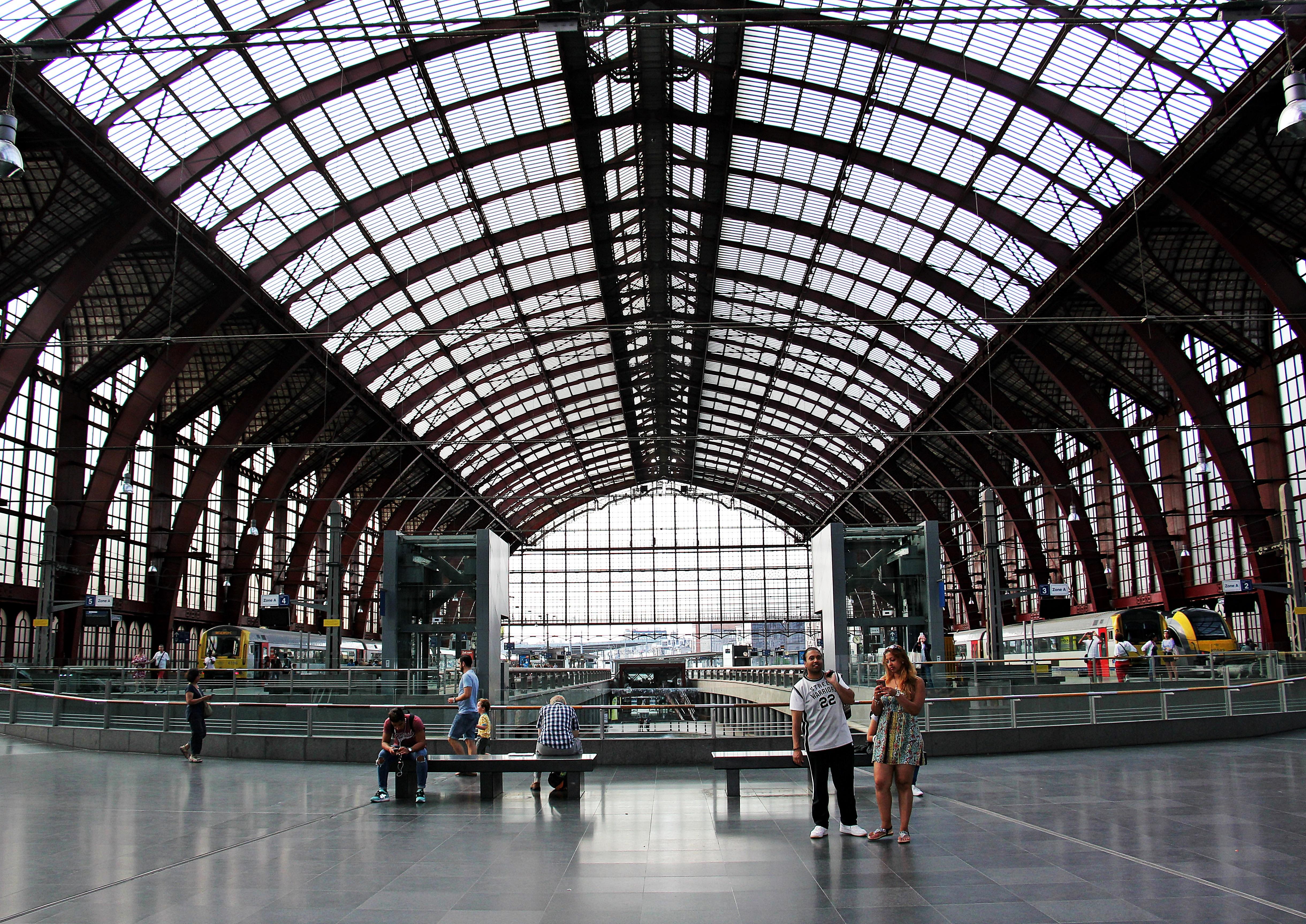 Bogen Stehle kostenlose foto die architektur eisenbahn der verkehr glas