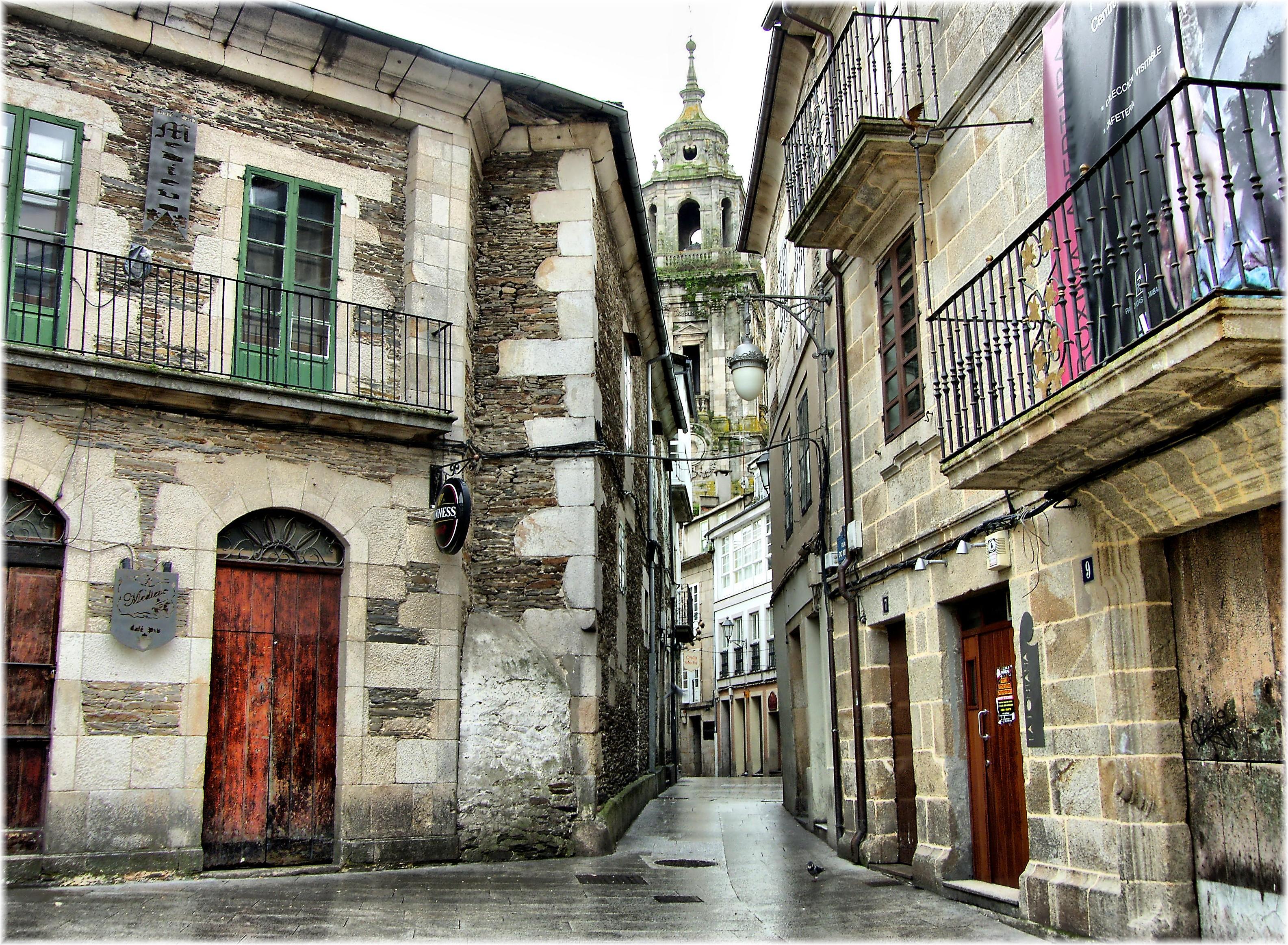 Fotos gratis arquitectura la carretera calle pueblo - Casas gratis en pueblos de espana ...