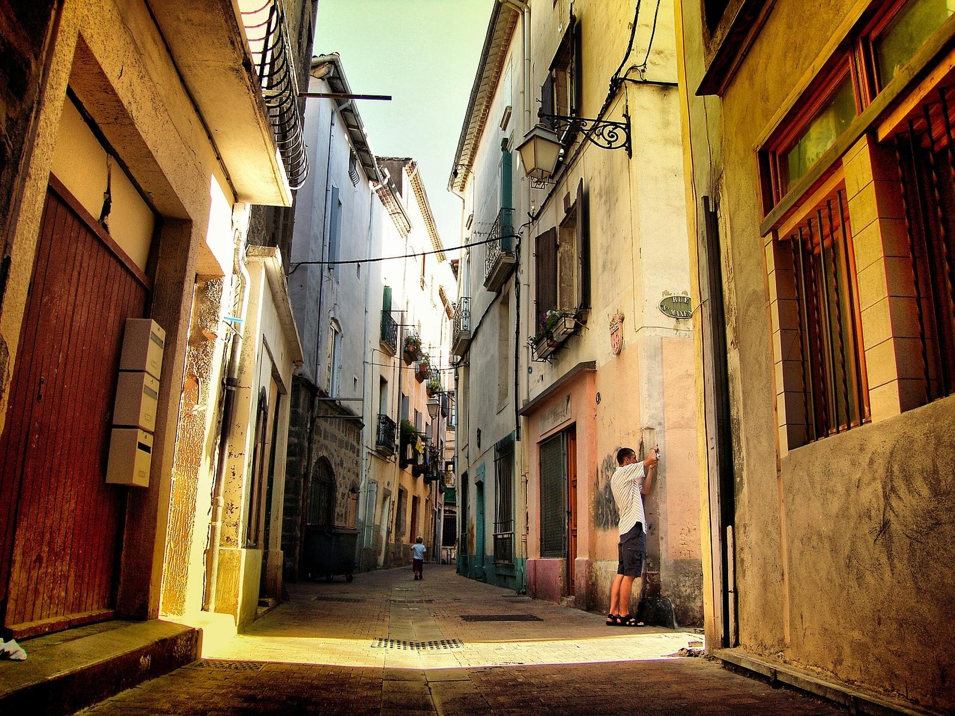 Обои старый город, дома, old city, улица, town, Old street. Города foto 12
