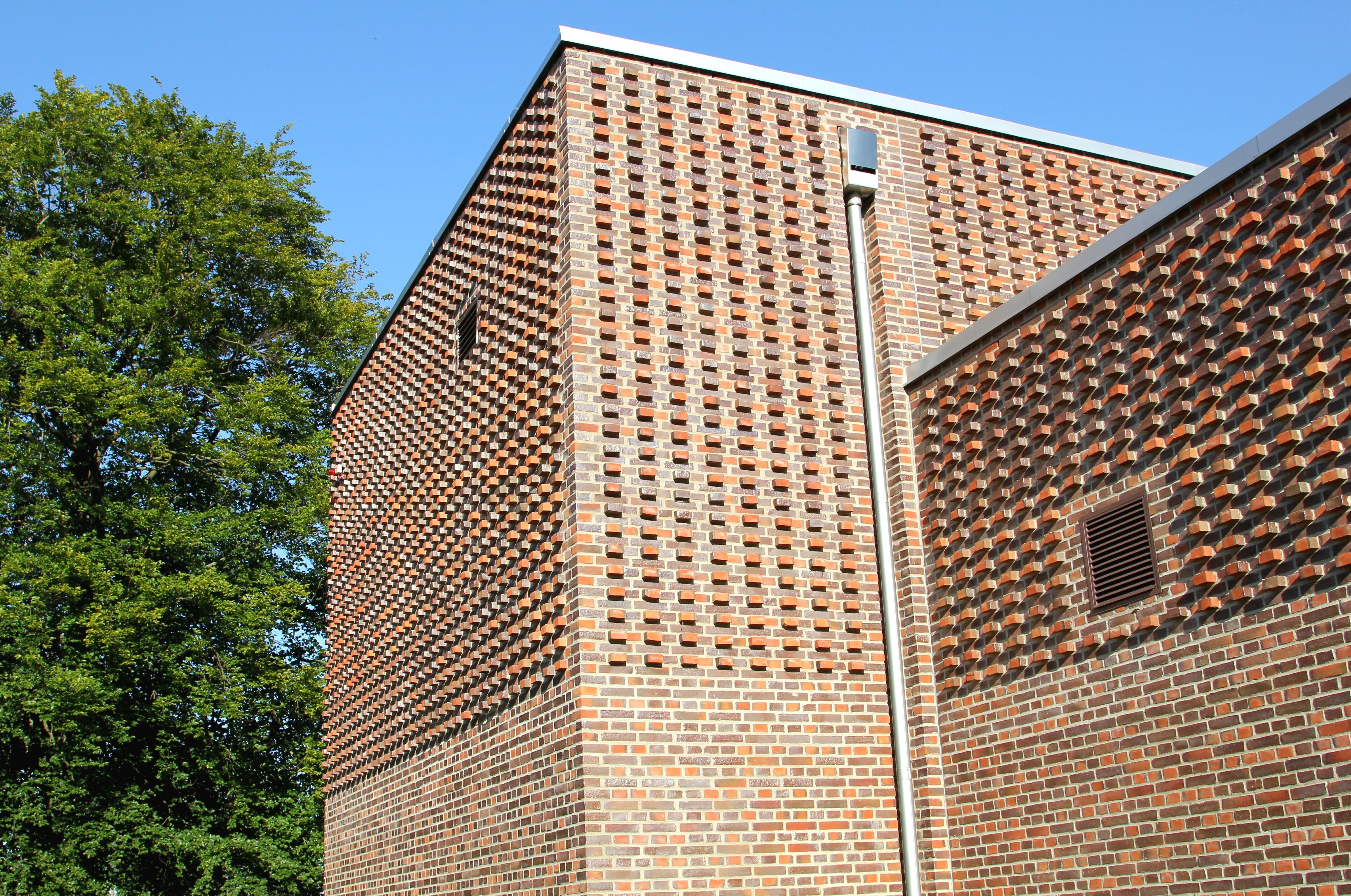 Wood Facade Architecture Design