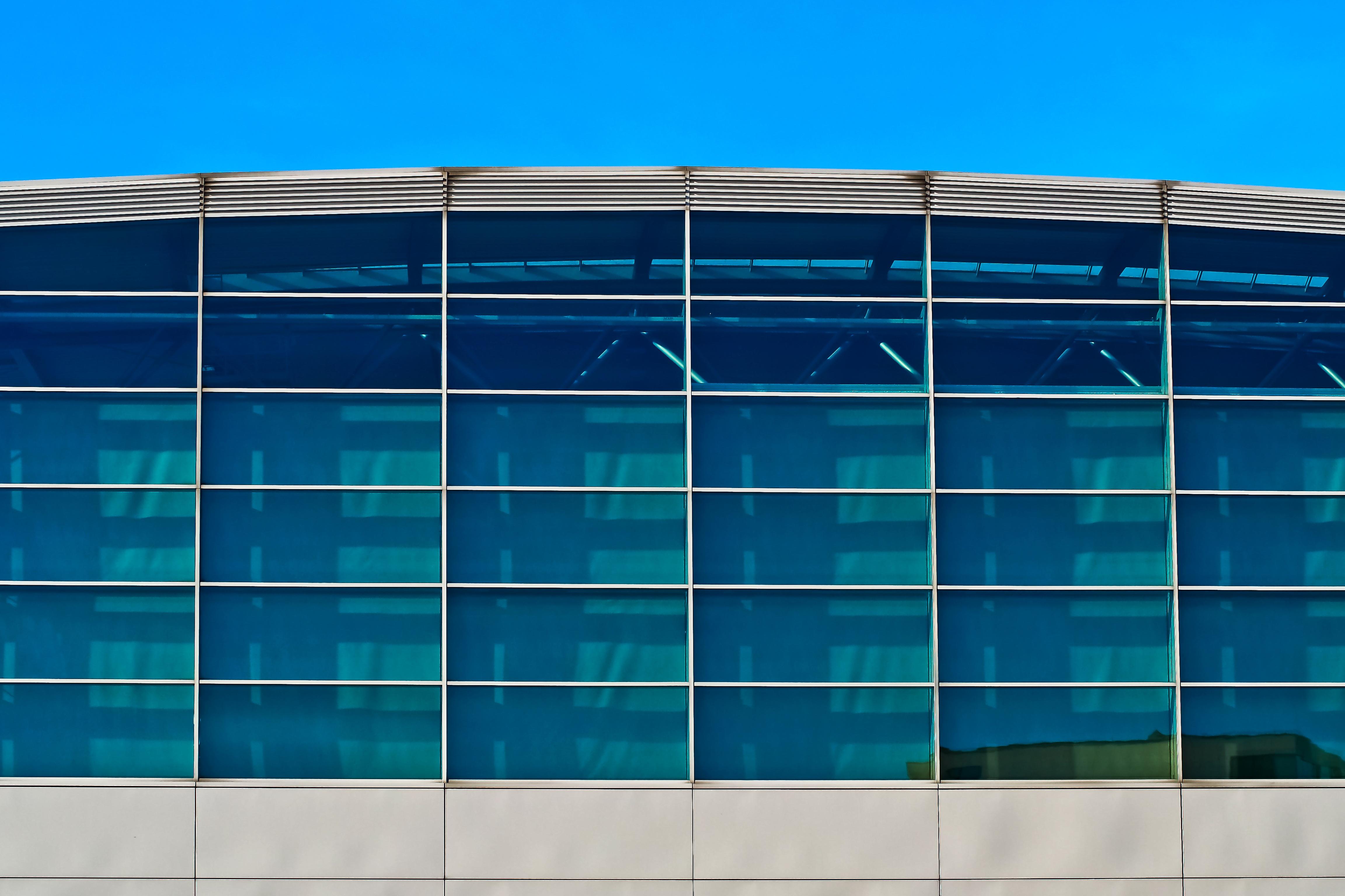 Reflective Design On Building