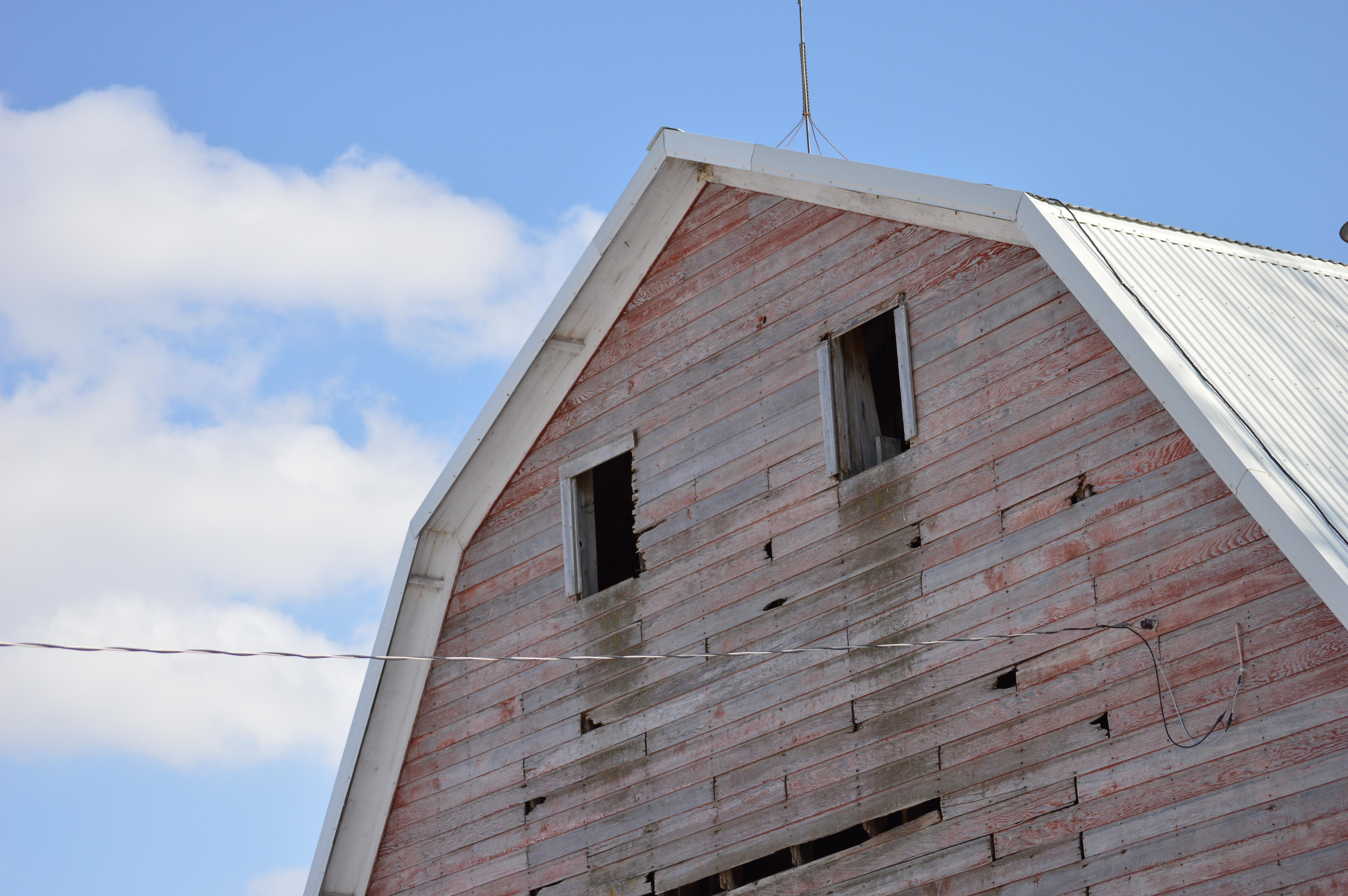 Fotos gratis : arquitectura, cielo, granja, vendimia, casa, textura ...