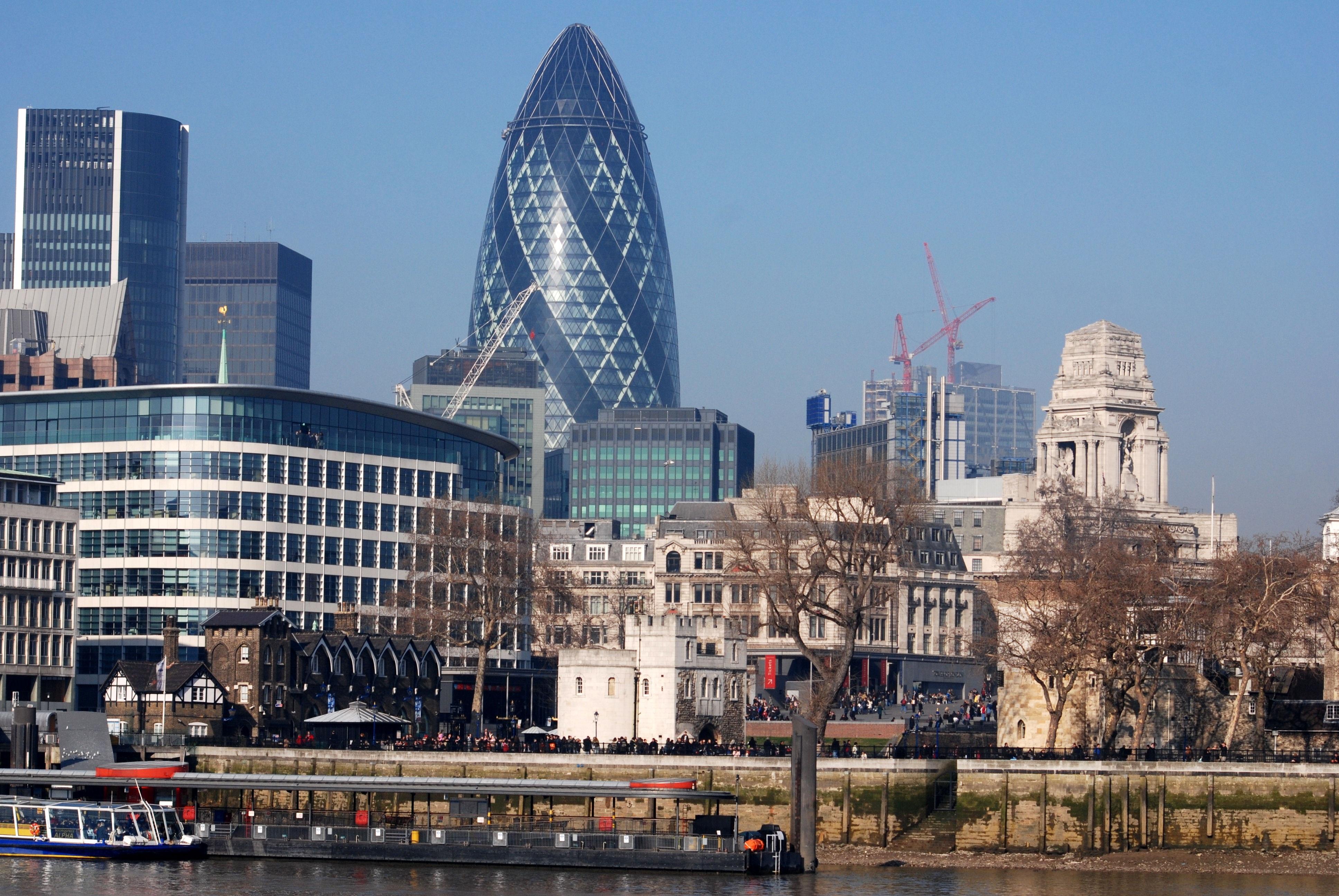 Images gratuites architecture horizon gratte ciel for Paysage de ville