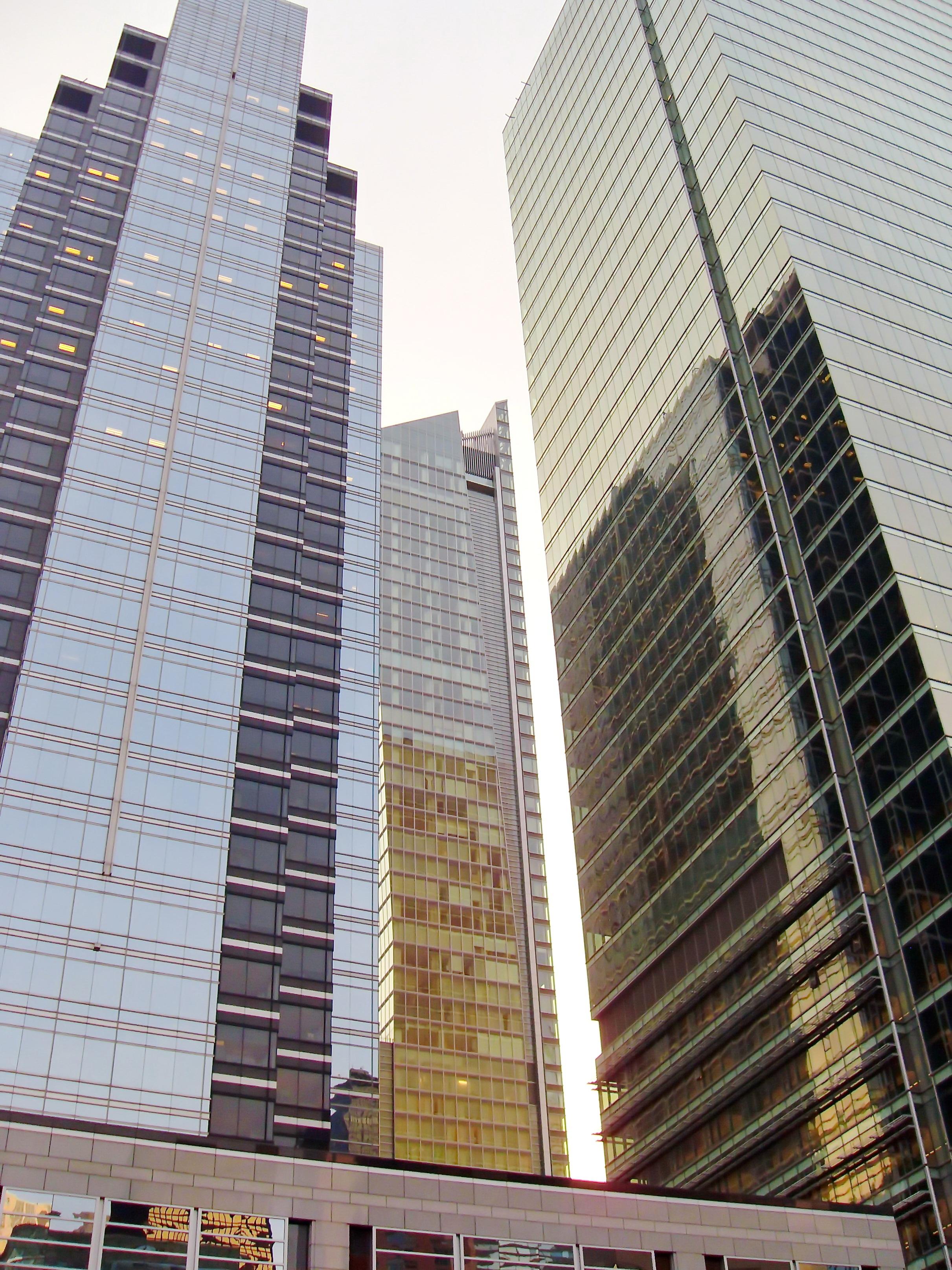 fotos gratis horizonte vaso rascacielos nueva york manhattan paisaje urbano centro de la ciudad torre estados unidos