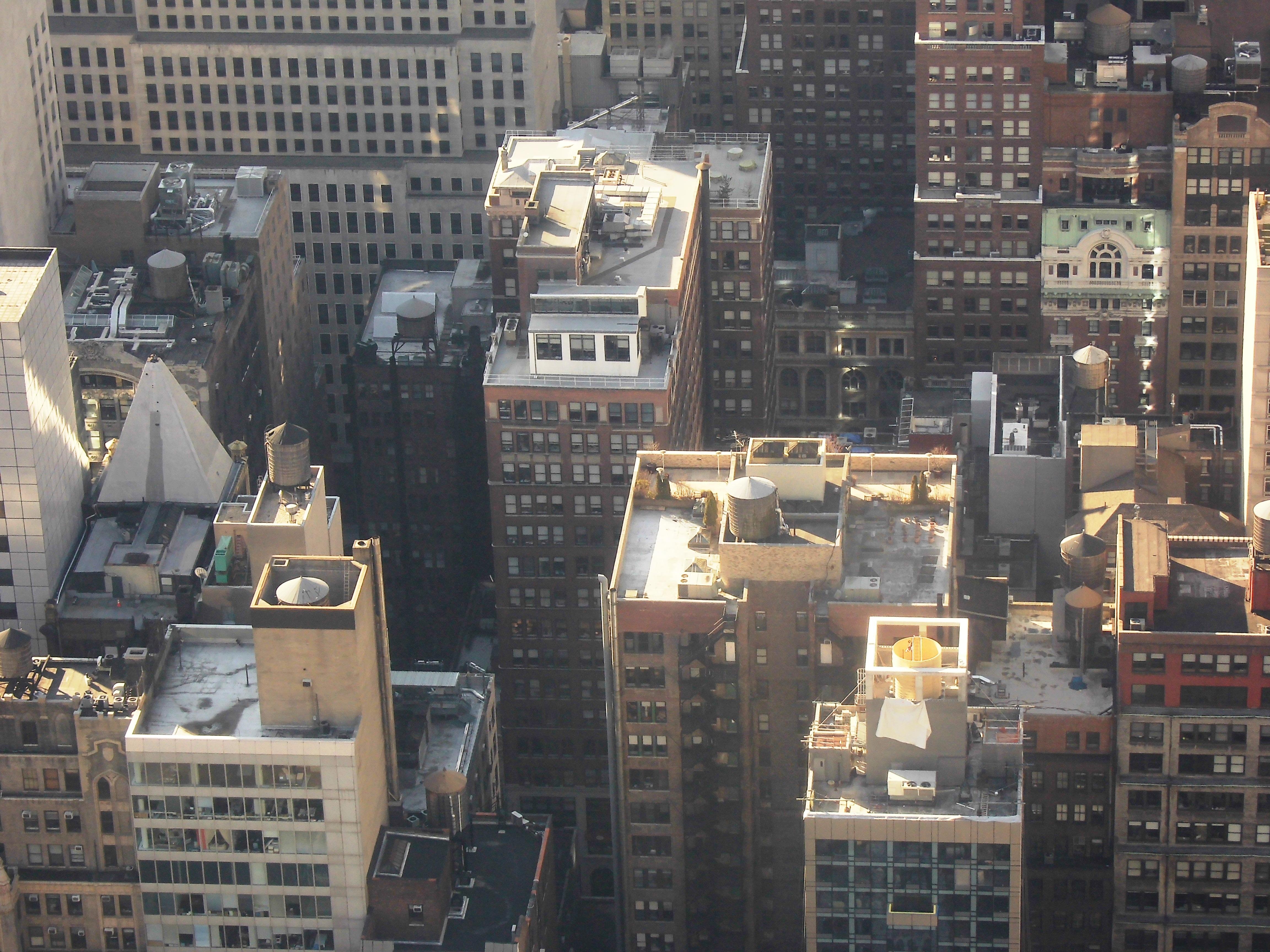 manhattan nueva york paisaje urbano centro de la ciudad estados unidos america fachada cerca bloque de pisos metrpoli barrio gran manzana
