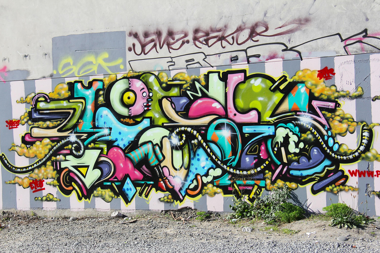 Картинки нарисованных графити