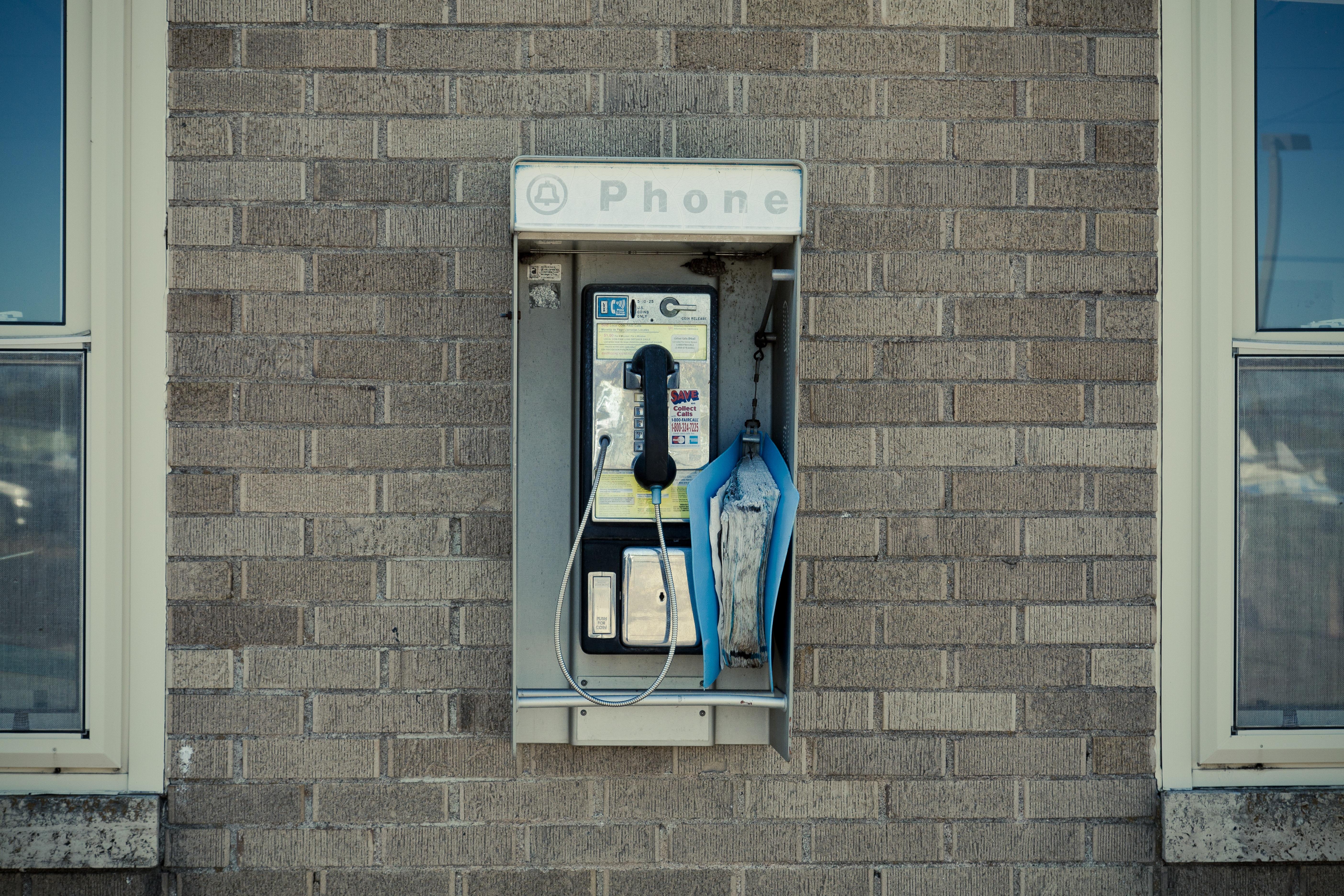 Architecture Street Retro Window Old Home Wall Phone Telephone  Communication Facade Blue Lighting Door Interior Design