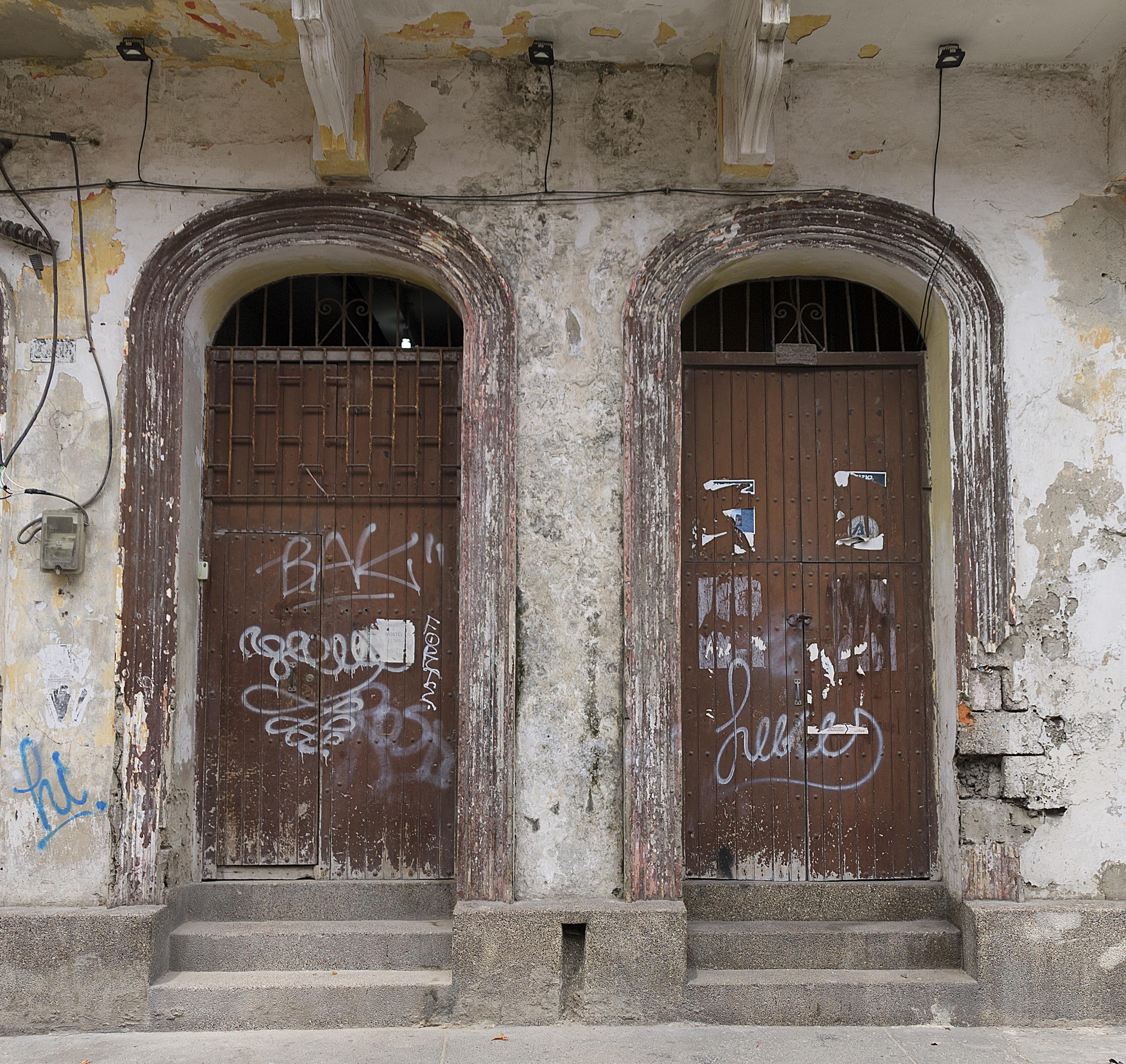 Free Images Architecture Street Window Town Building Old City Wall Arch Facade Grunge Historic Graffiti Door Art Vandalism Doors Latin