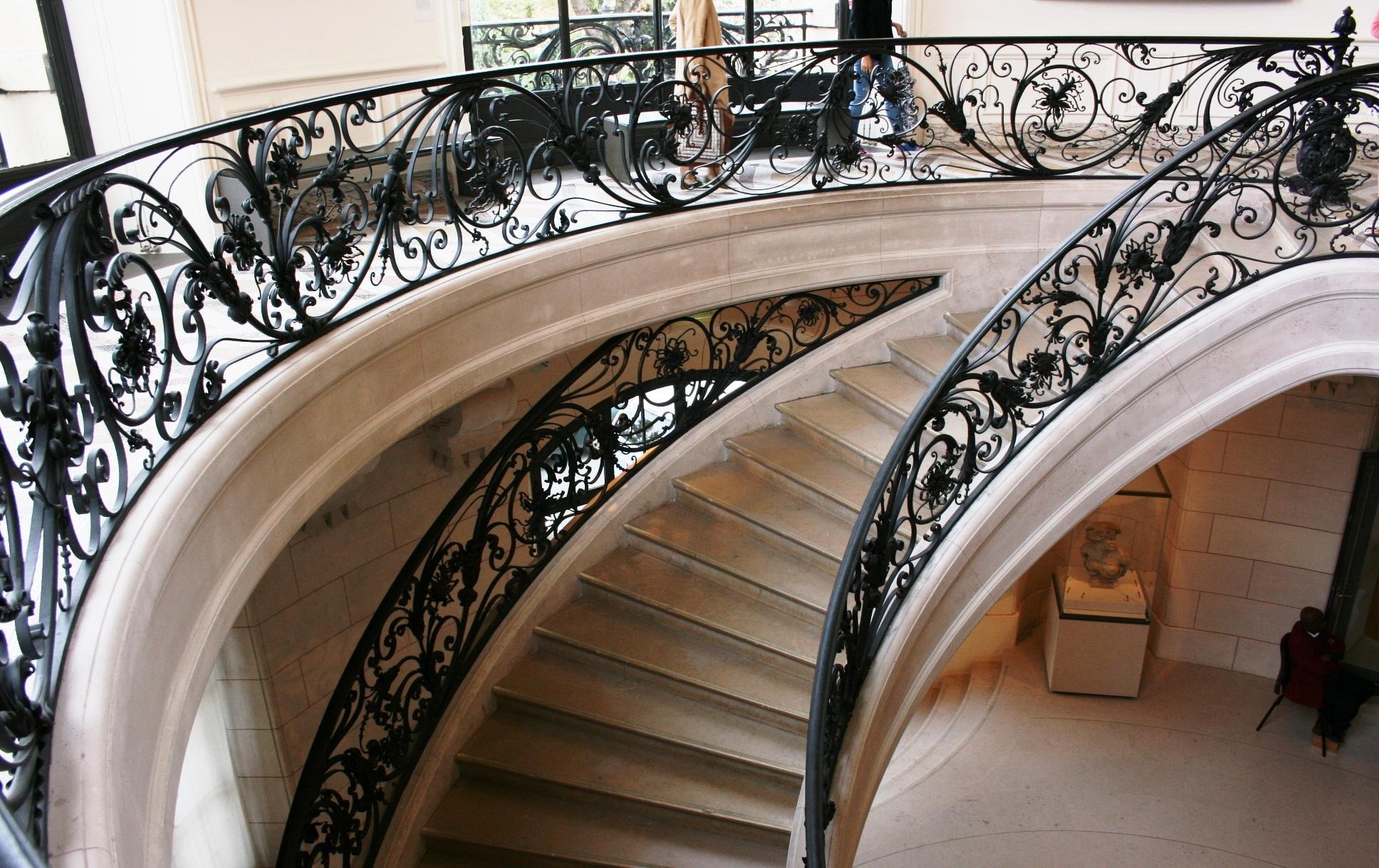 Images Gratuites : architecture, structure, Paris, escalier, France ...