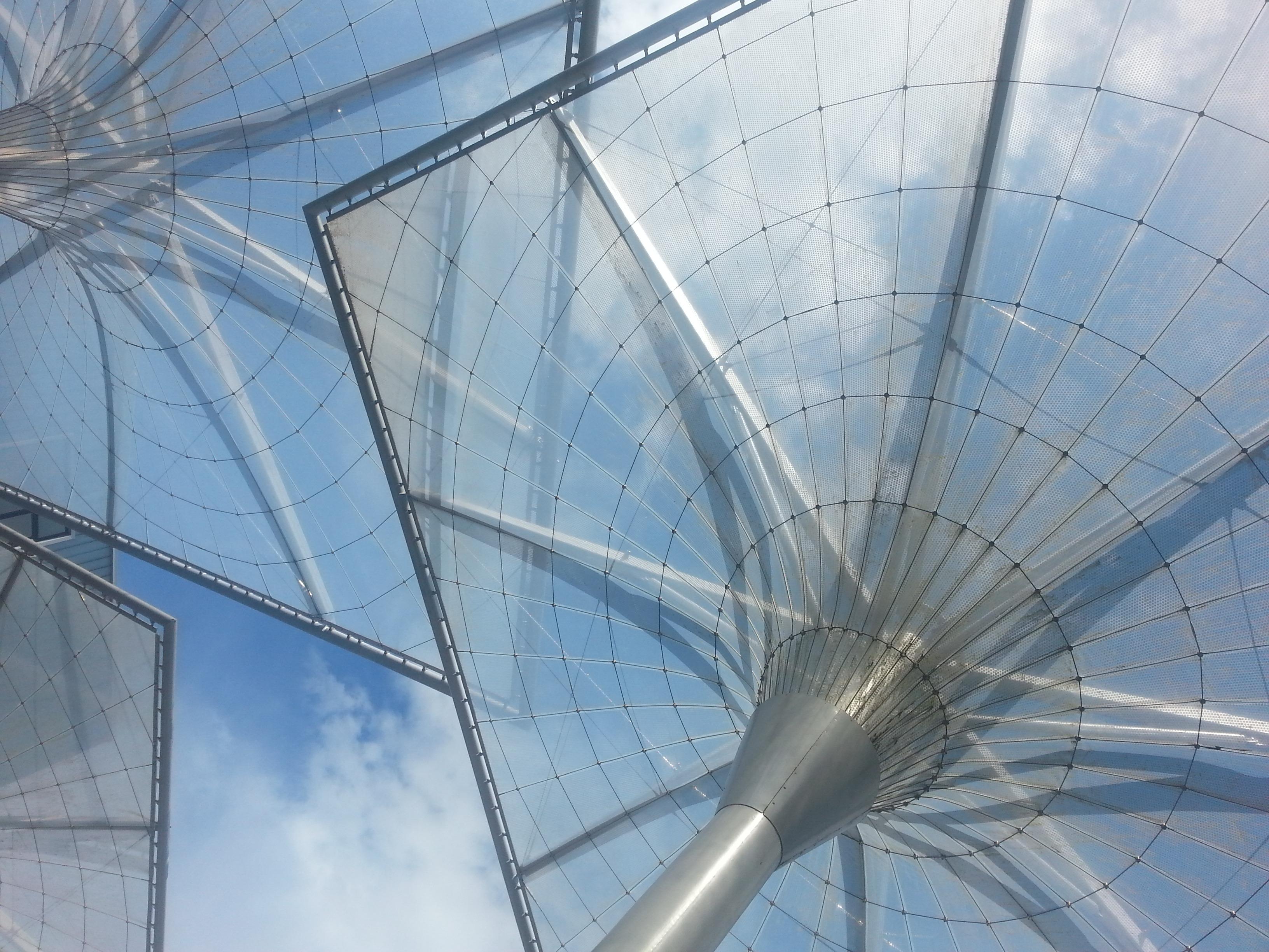 Fotos gratis : arquitectura, estructura, sol, viento, techo ...