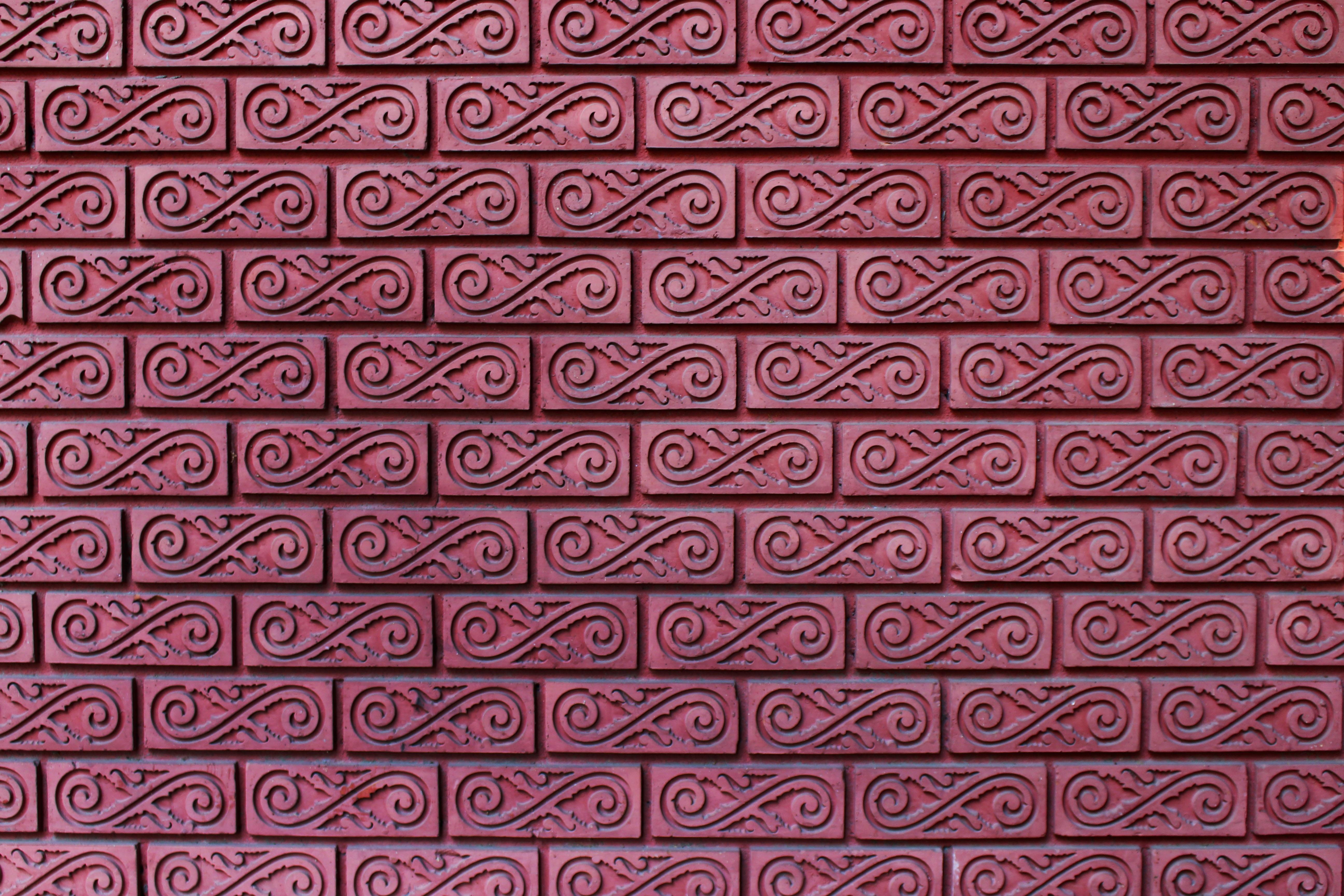 Muster tapete mauerwerk for Muster tapete