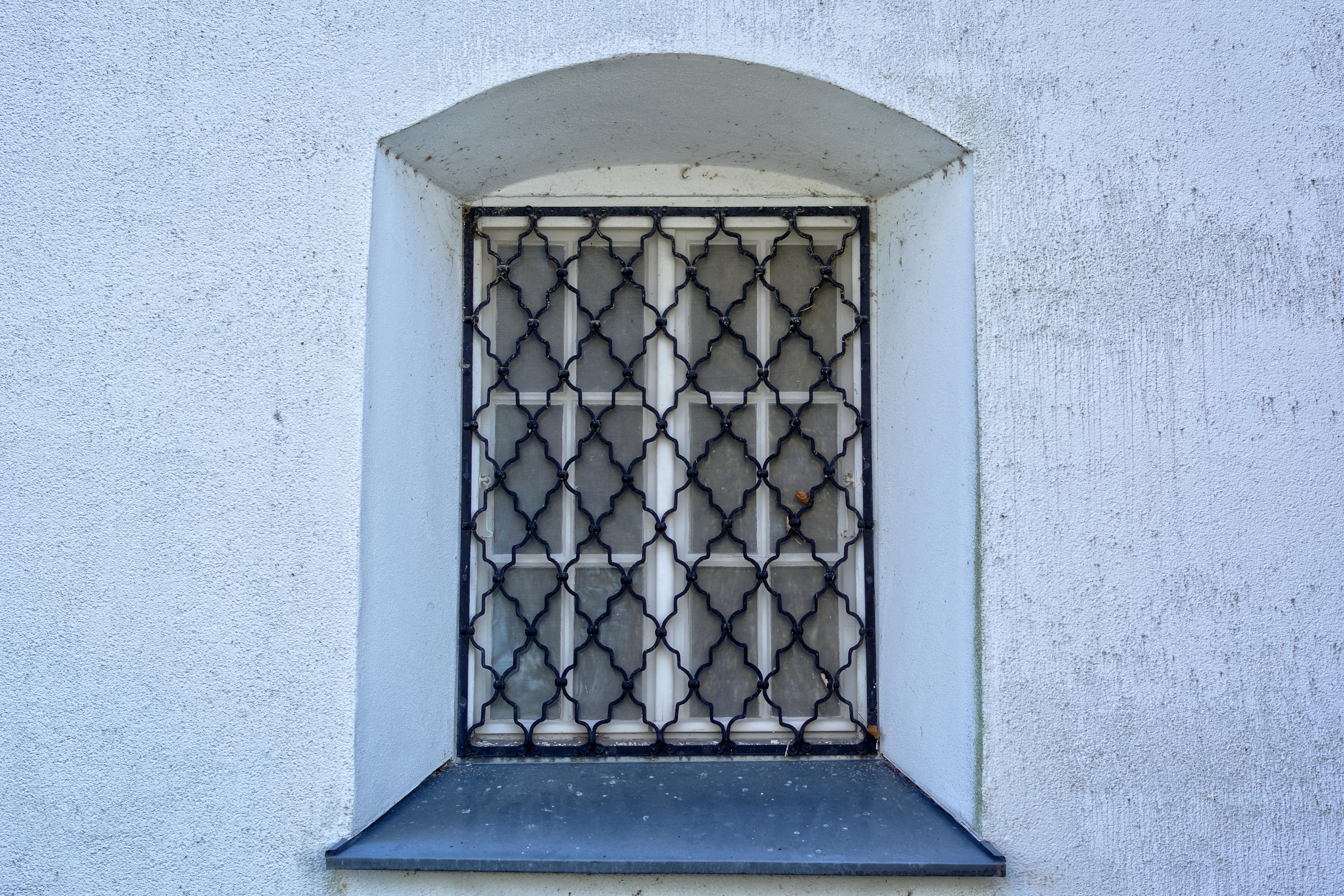 Door Grid Iron & Carnivale - Wrought Iron Security Screen Door - Model SD0209