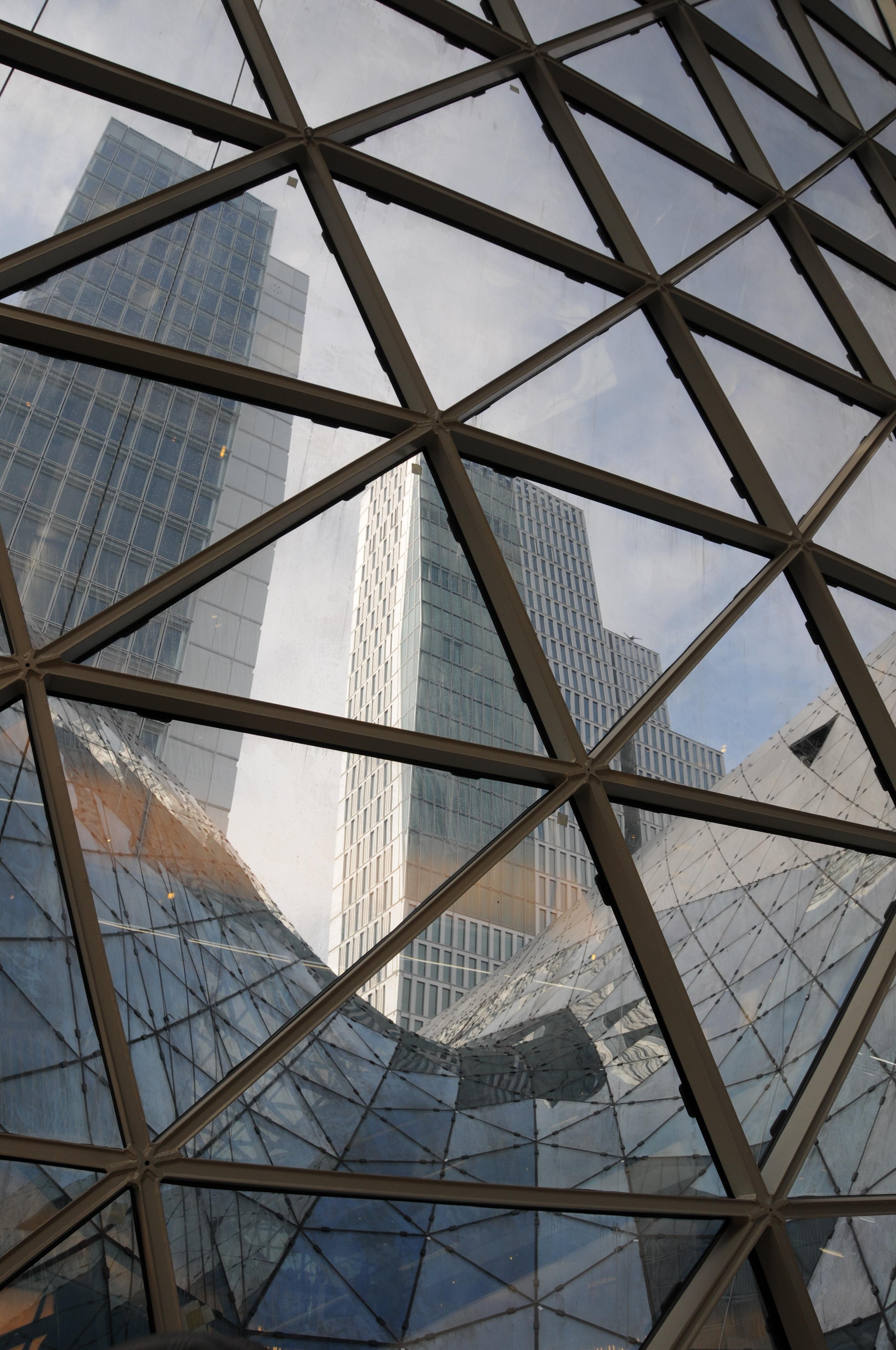 Glass Steel Facade