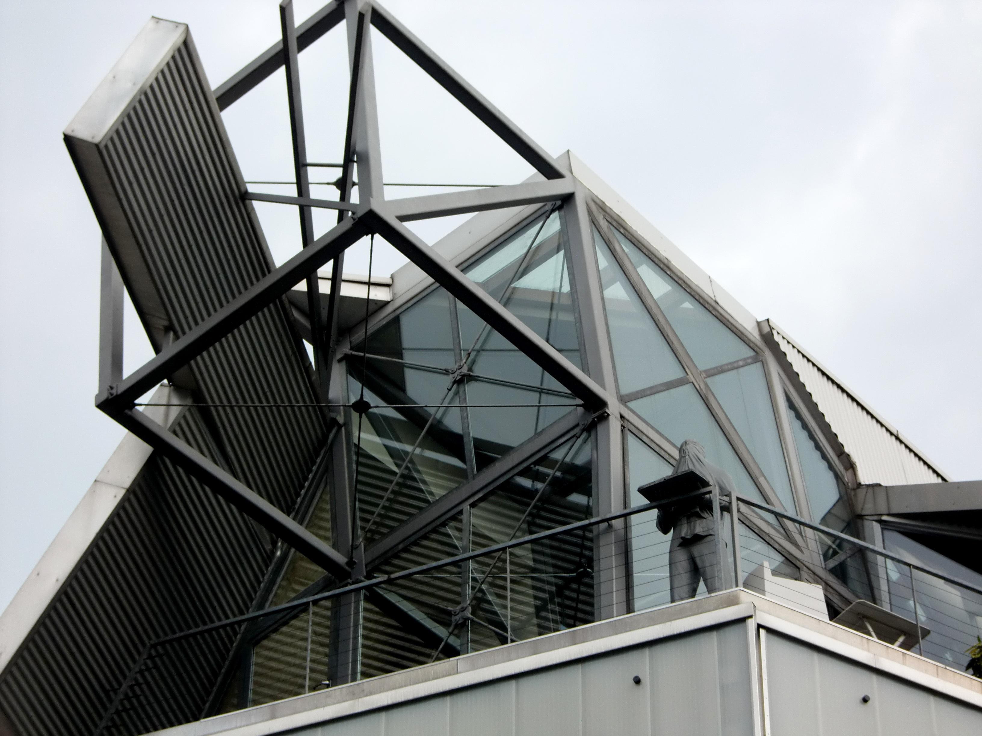 Stehlen Modern kostenlose foto die architektur struktur fenster glas dach