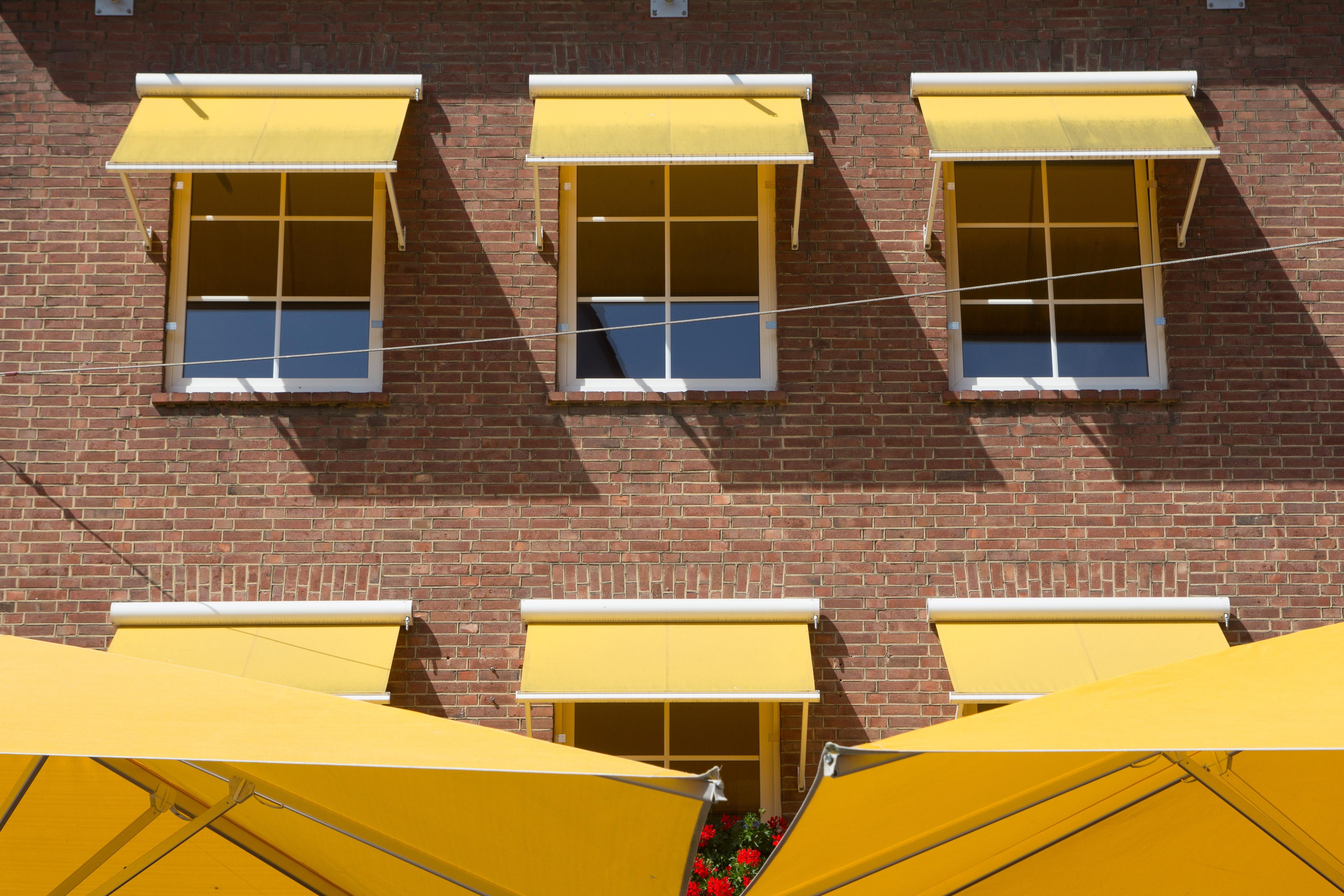 Бесплатная фотография: лето, балкон, защита от солнца - бесп.