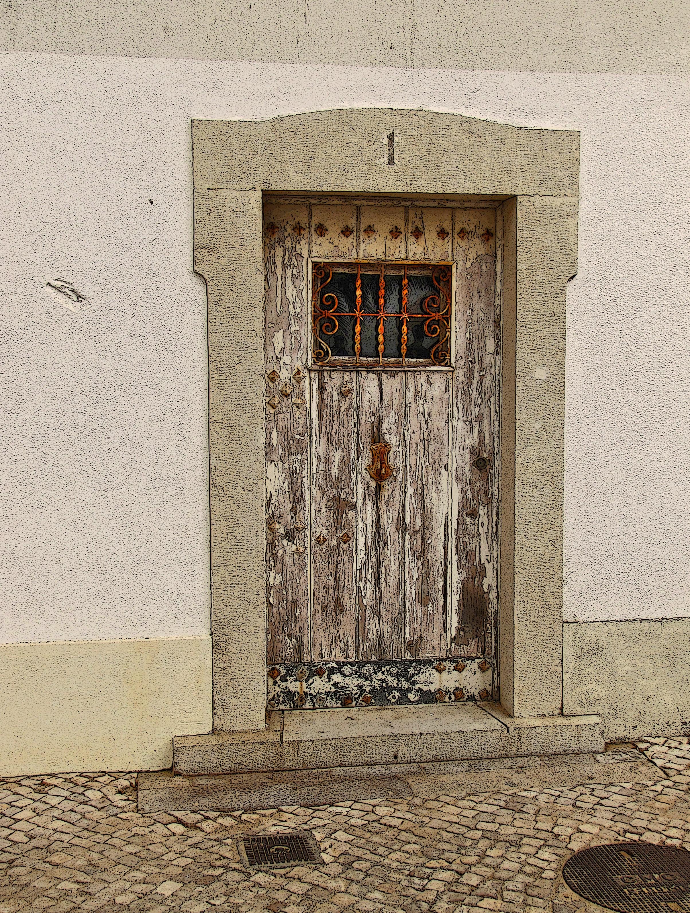 madera calle ventana edificio ciudad columna fachada capilla ladrillo puerta reja alojamiento casa antigua templo portugal estilo casa