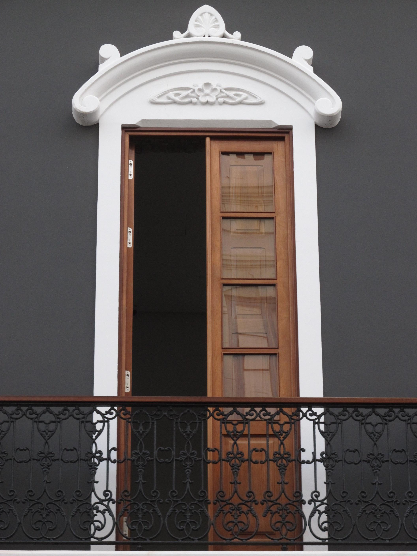 Gambar Arsitektur Struktur Kayu Jendela Bangunan Dinding