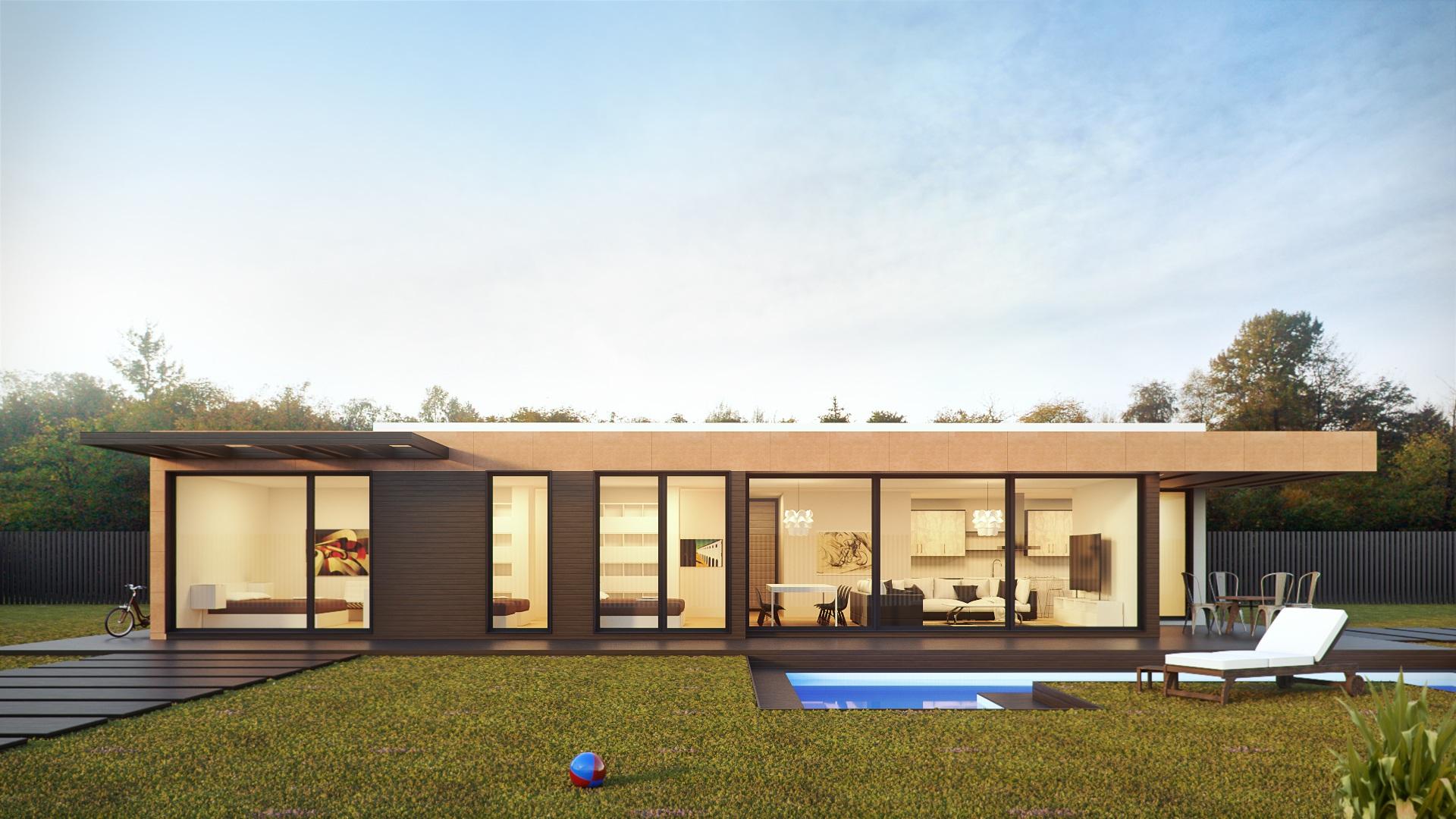 Fotos gratis : arquitectura, villa, piscina, fachada, propiedad ...