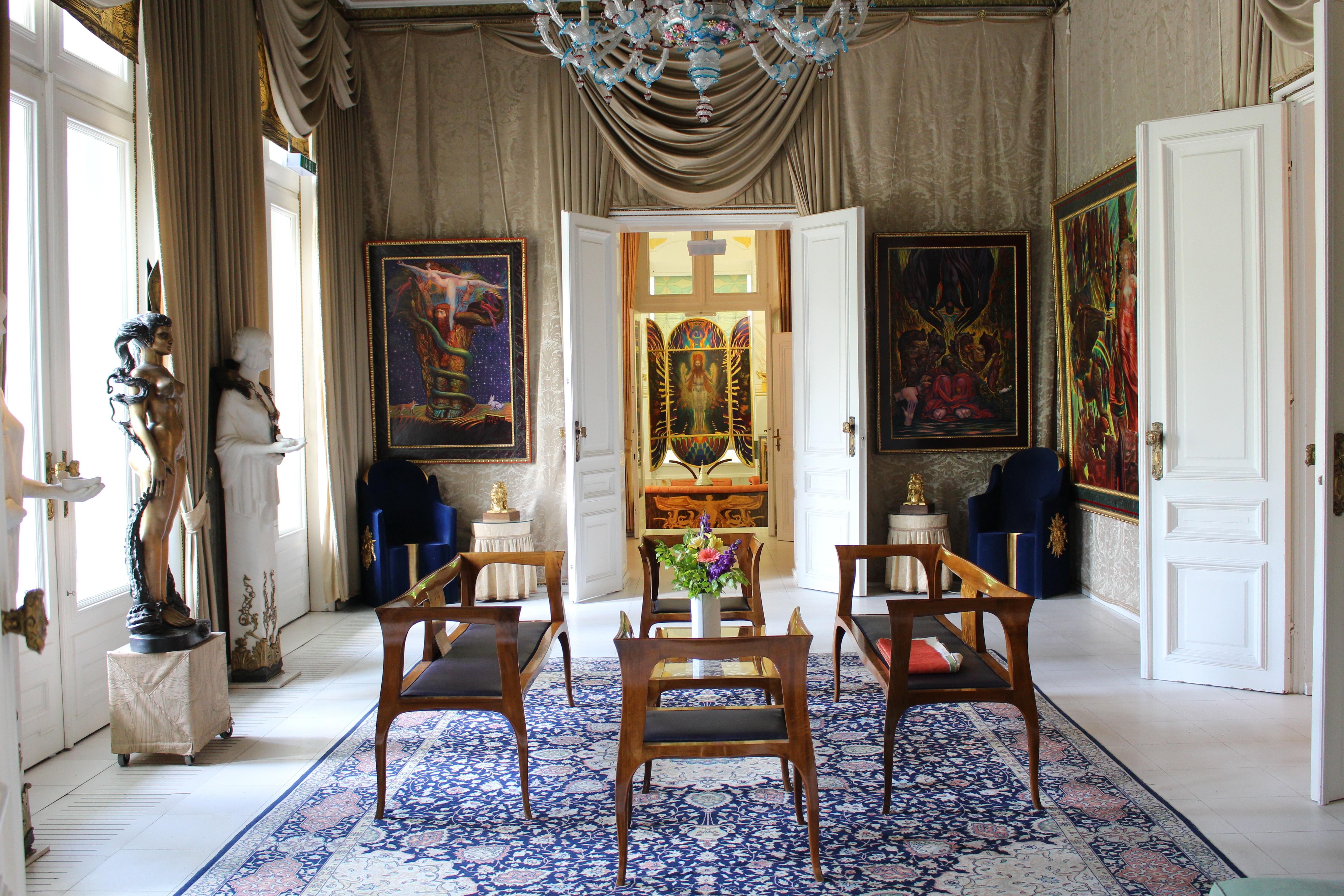 villa palacio piso edificio casa sala propiedad sala mueble habitacin diseo de interiores austria diseo