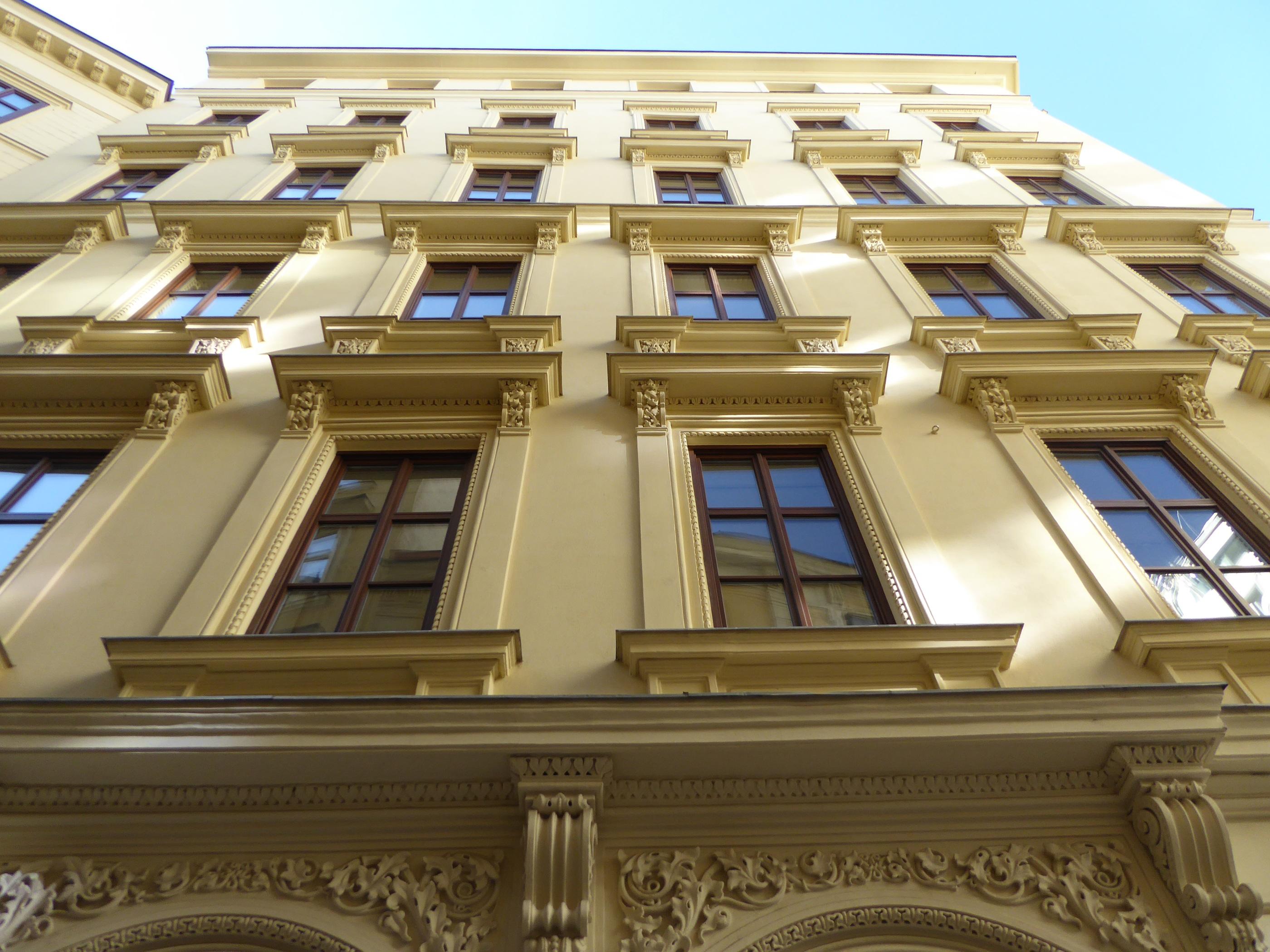 Fassade Gelb kostenlose foto die architektur fenster gebäude fassade