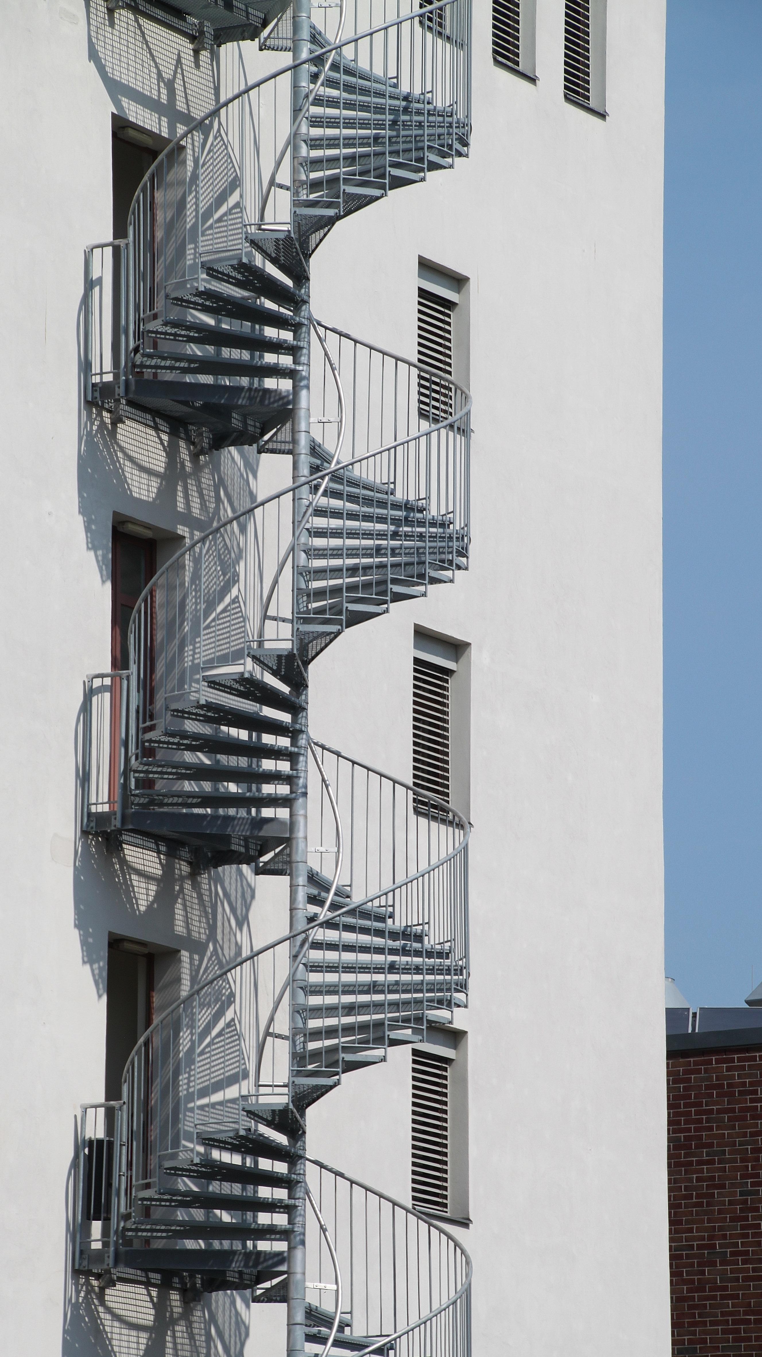 Gambar Arsitektur Jendela Bangunan Rumah Pencakar Langit