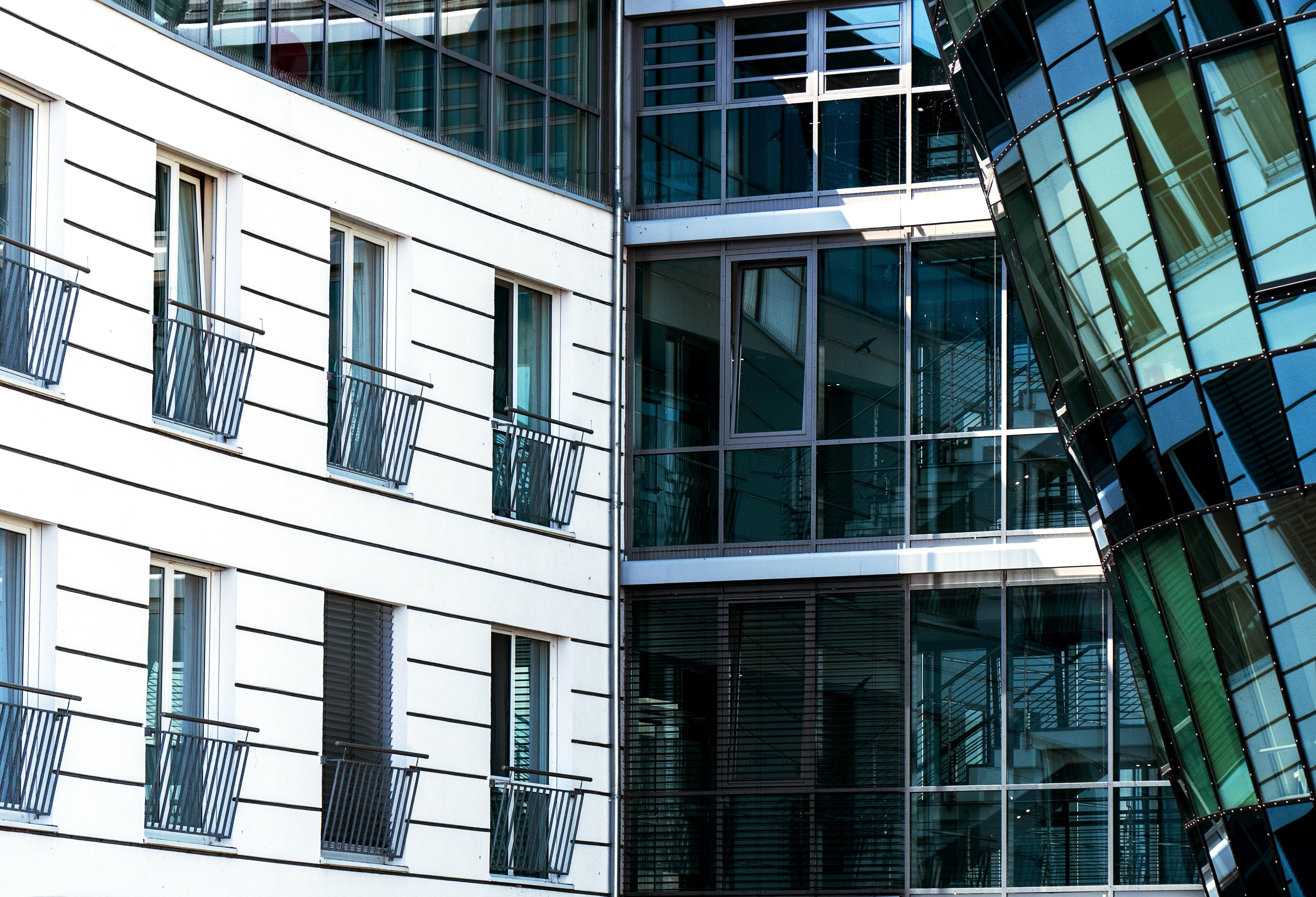 Fotos gratis arquitectura ventana rascacielos fachada for Casa moderna gratis