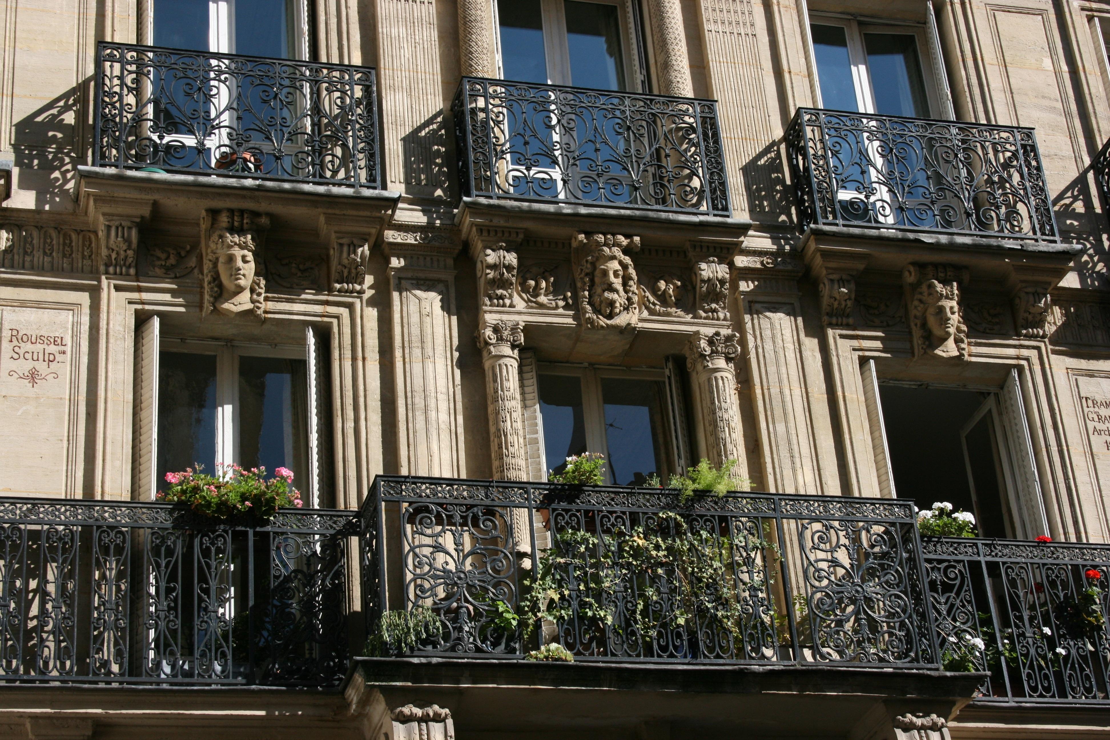 Gratis billeder : arkitektur, vindue, by, Paris, downtown, altan ...