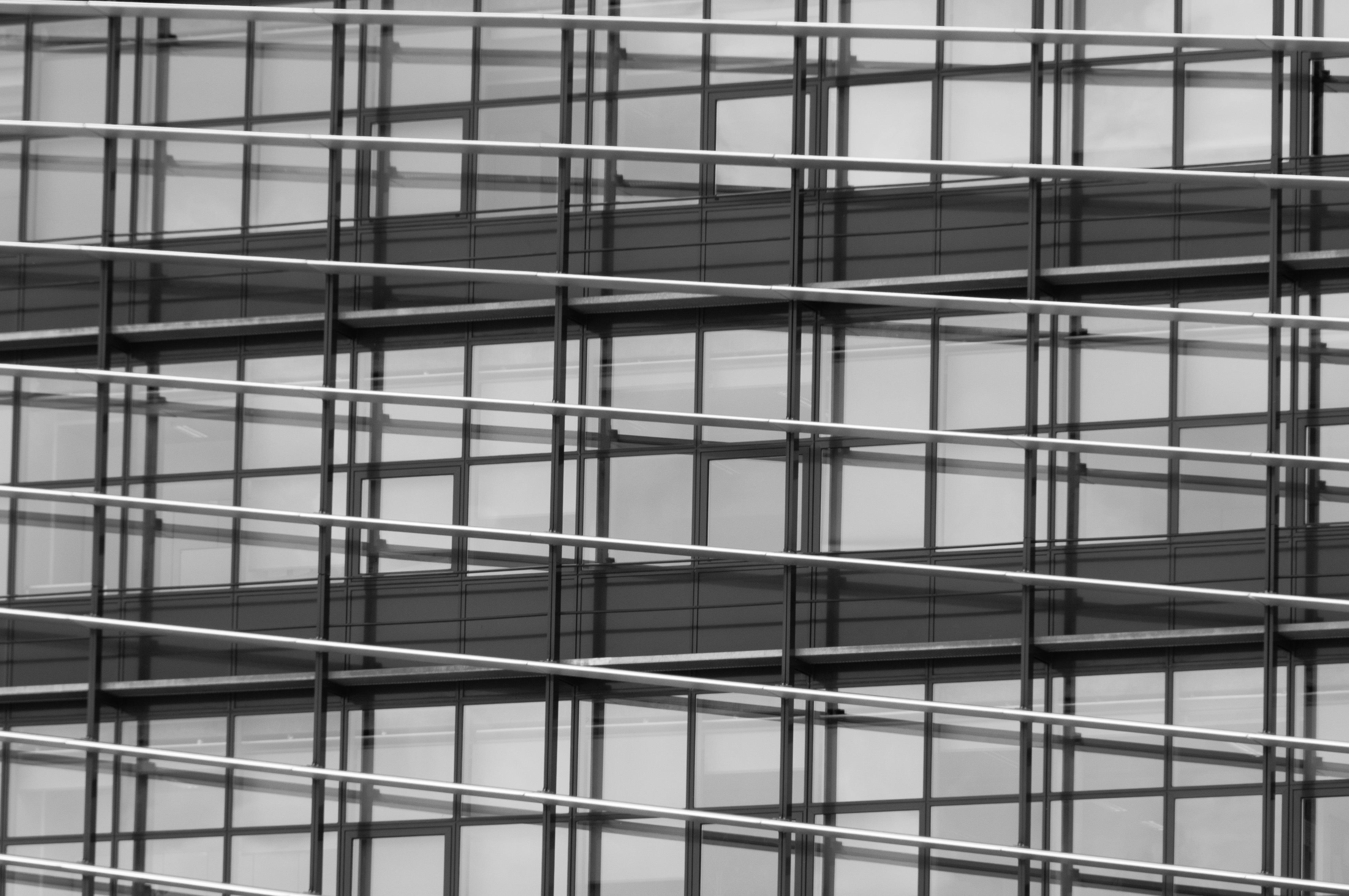 Symmetry Furniture free images : architecture, building, line, metal, facade, shelf