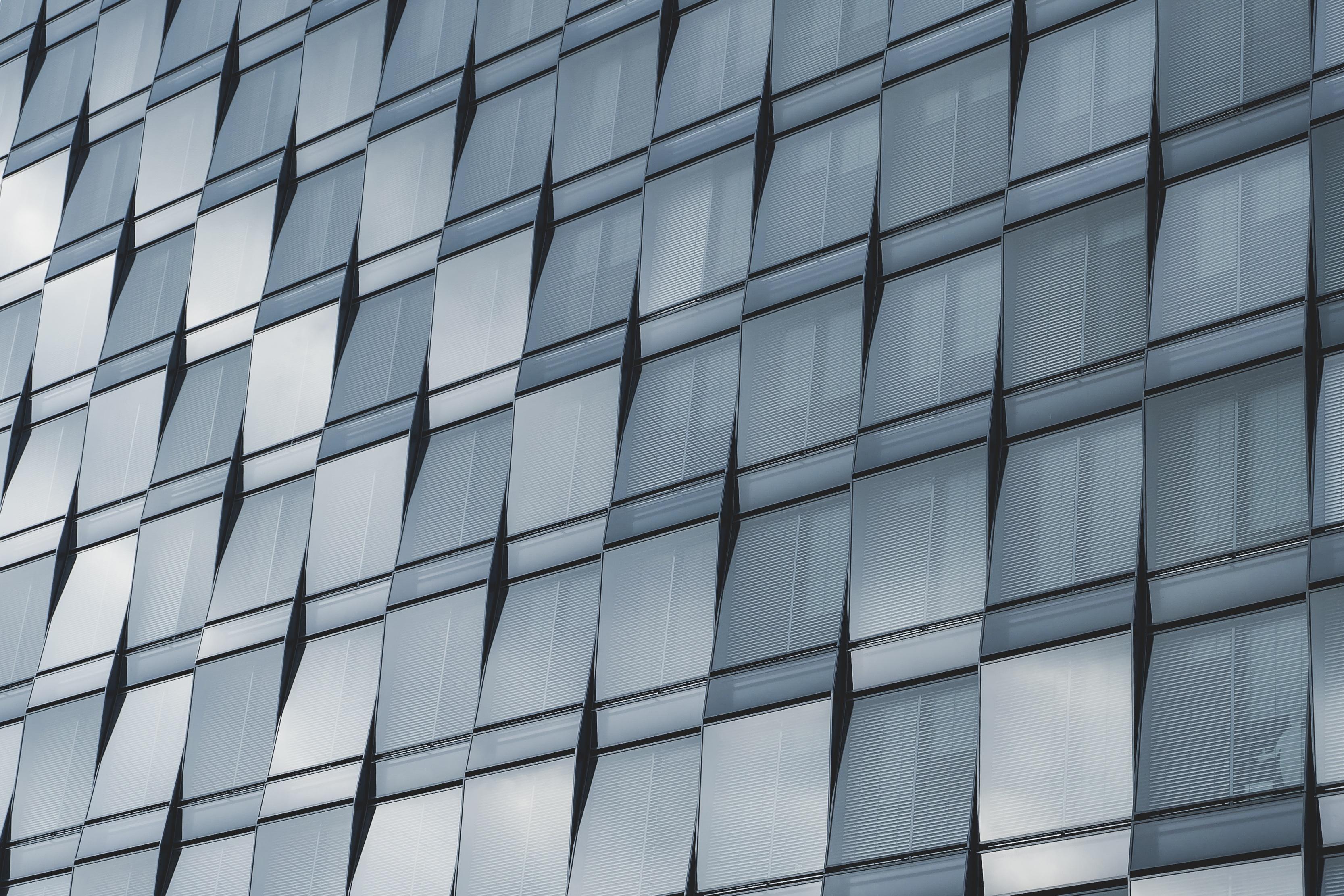 無料画像 建築 ガラス 超高層ビル 壁 ライン ファサード インテリア・デザイン 対称 形状