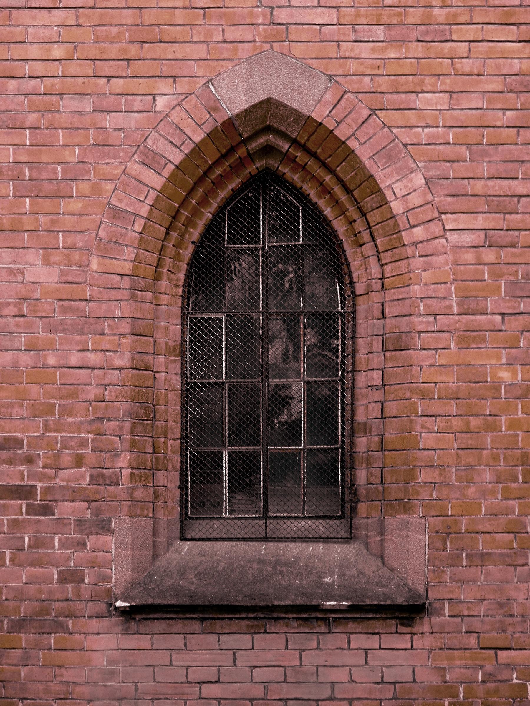 Architecture Window Wall Arch Facade Church Chapel Brick Door Material Iron Brickwork Gothic Revival