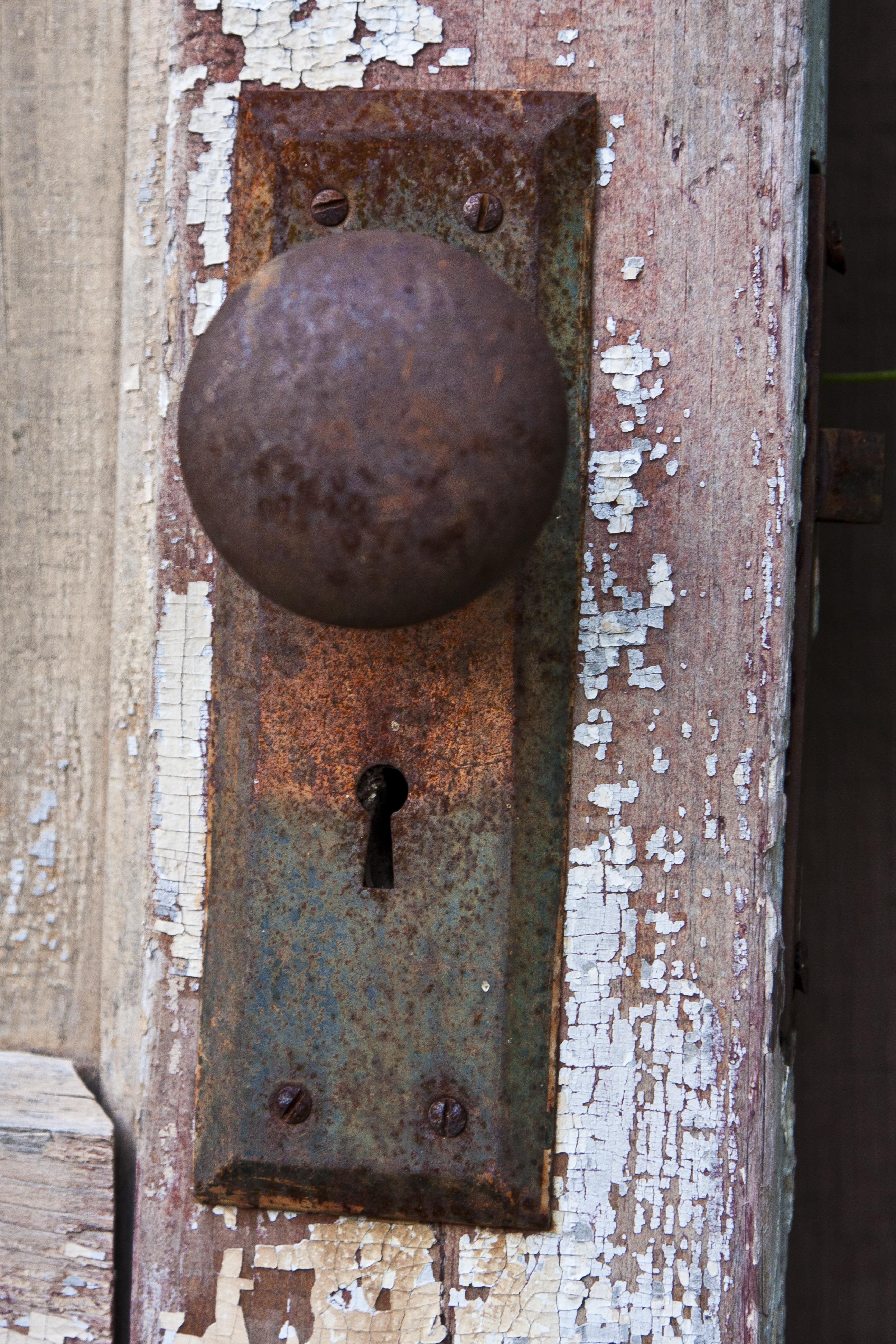 how to get rid of doors in rust