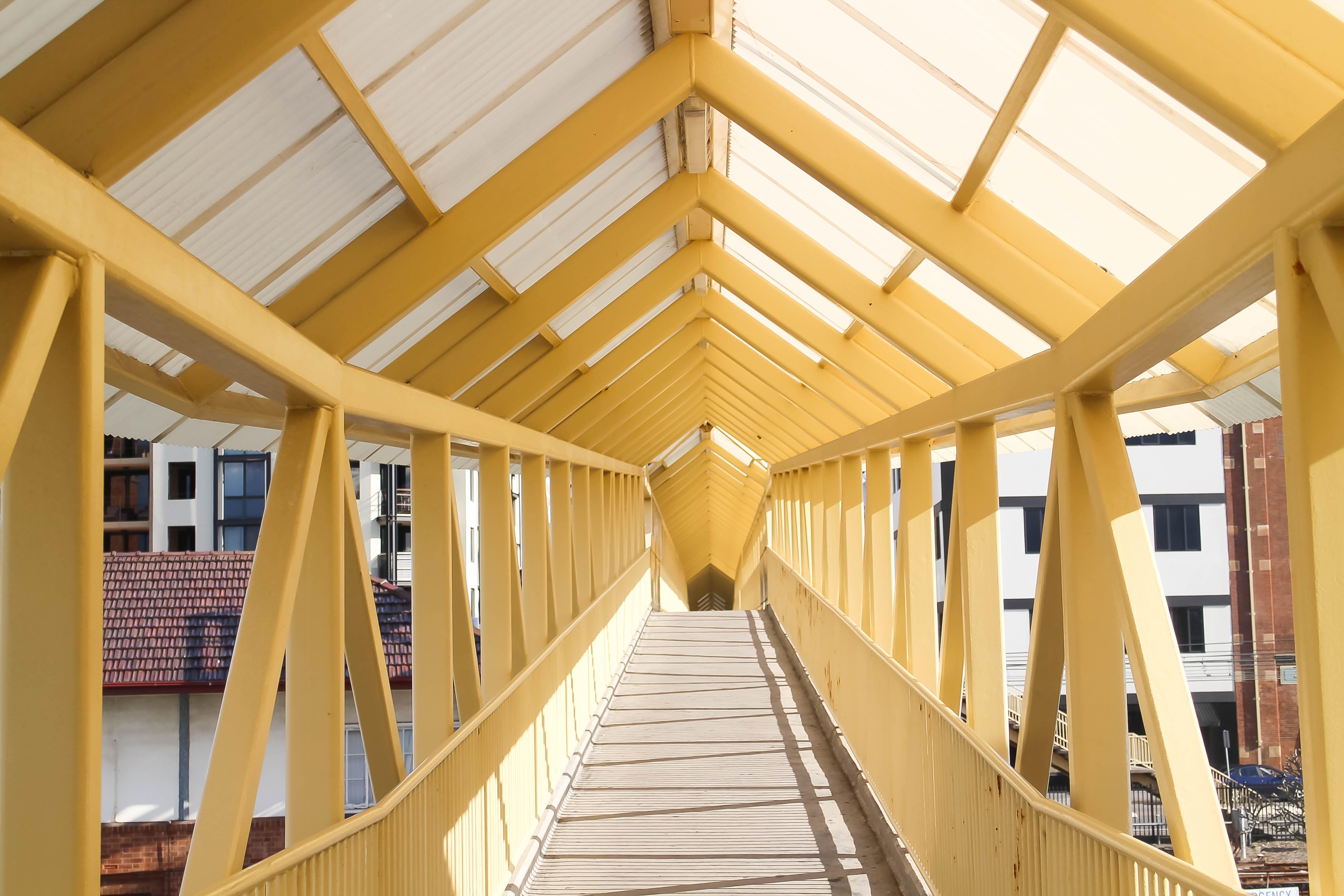Images Gratuites : architecture, bois, pont, la perspective ...