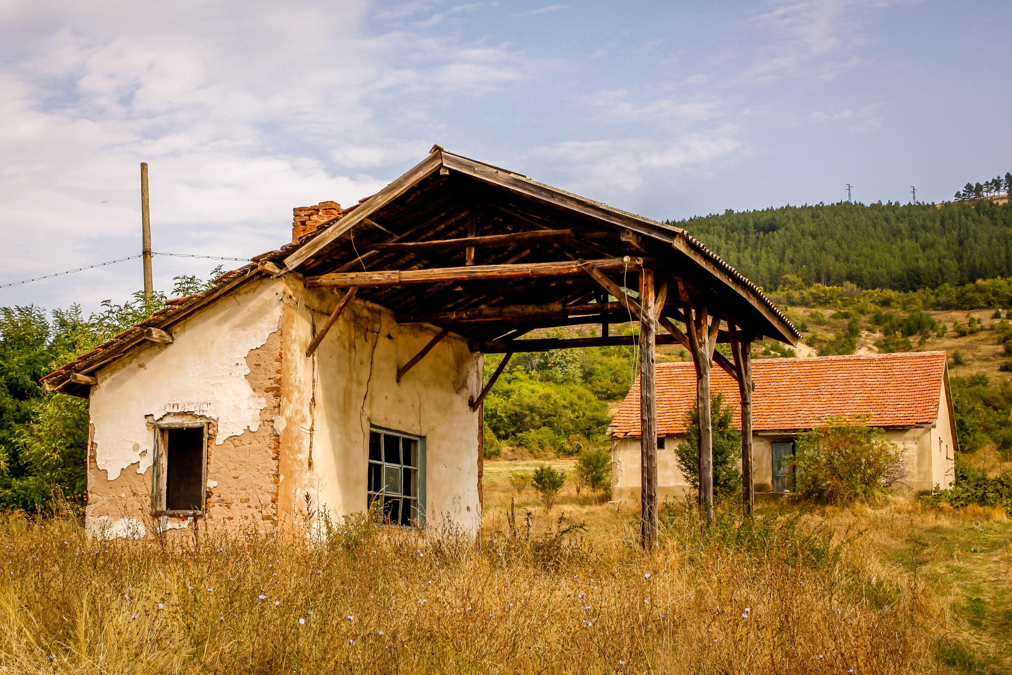 Fotos gratis arquitectura madera granja campo - Casa rural de madera ...